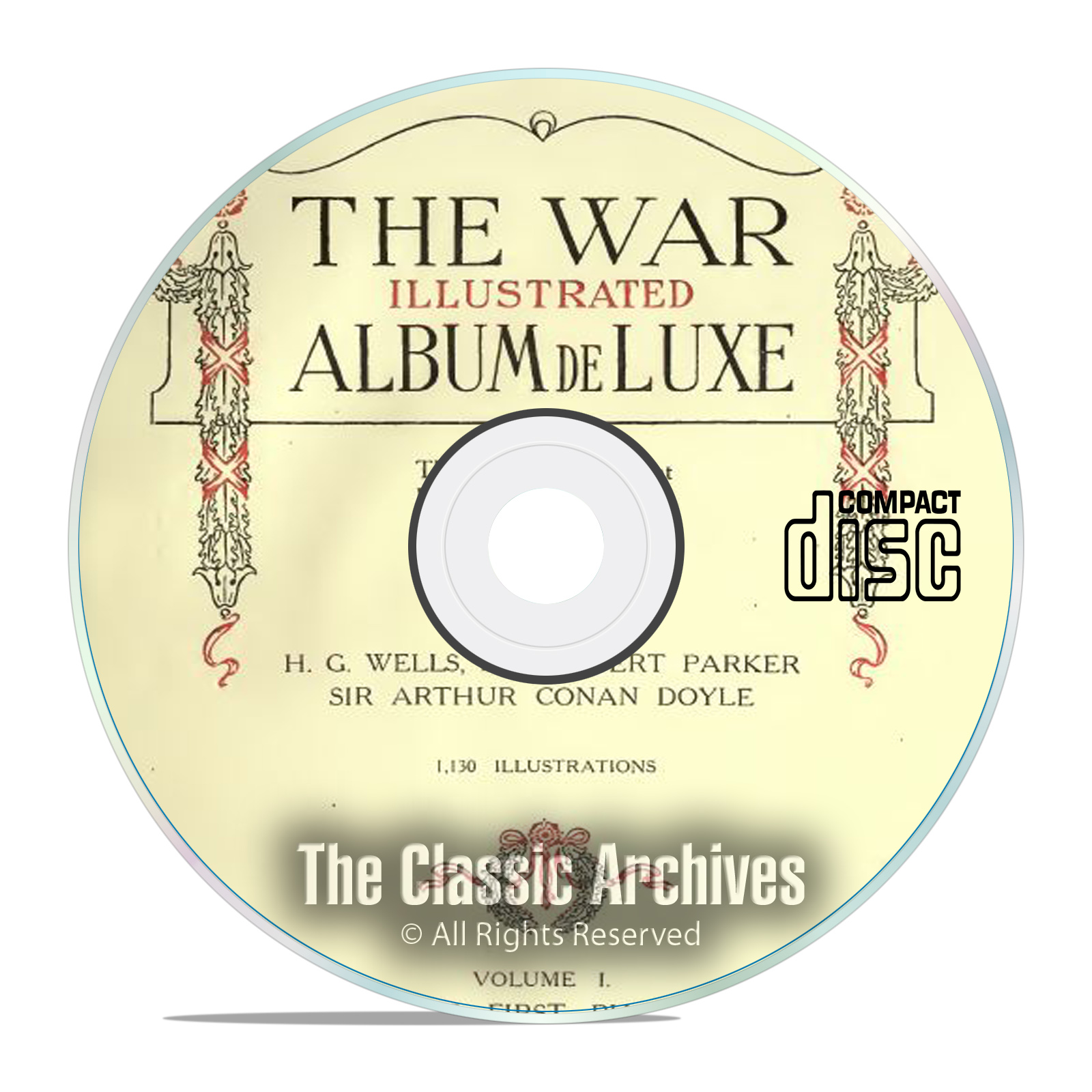 The War Illustrated Album Deluxe World War 1, 10 Volume Complete Set PDF CD