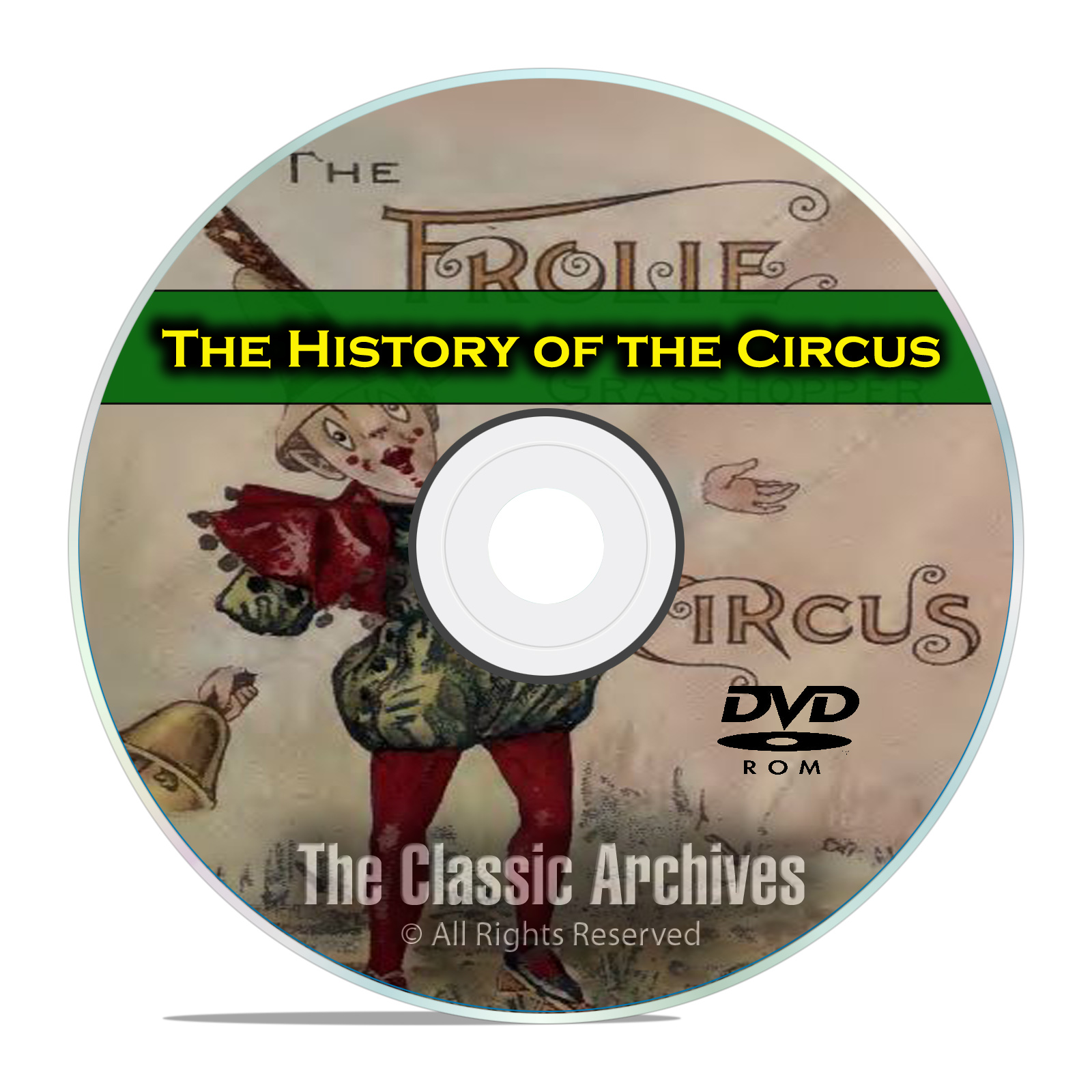 The History of the Circus, Ringling Brothers Barnum Bailey, Posters PDF DVD