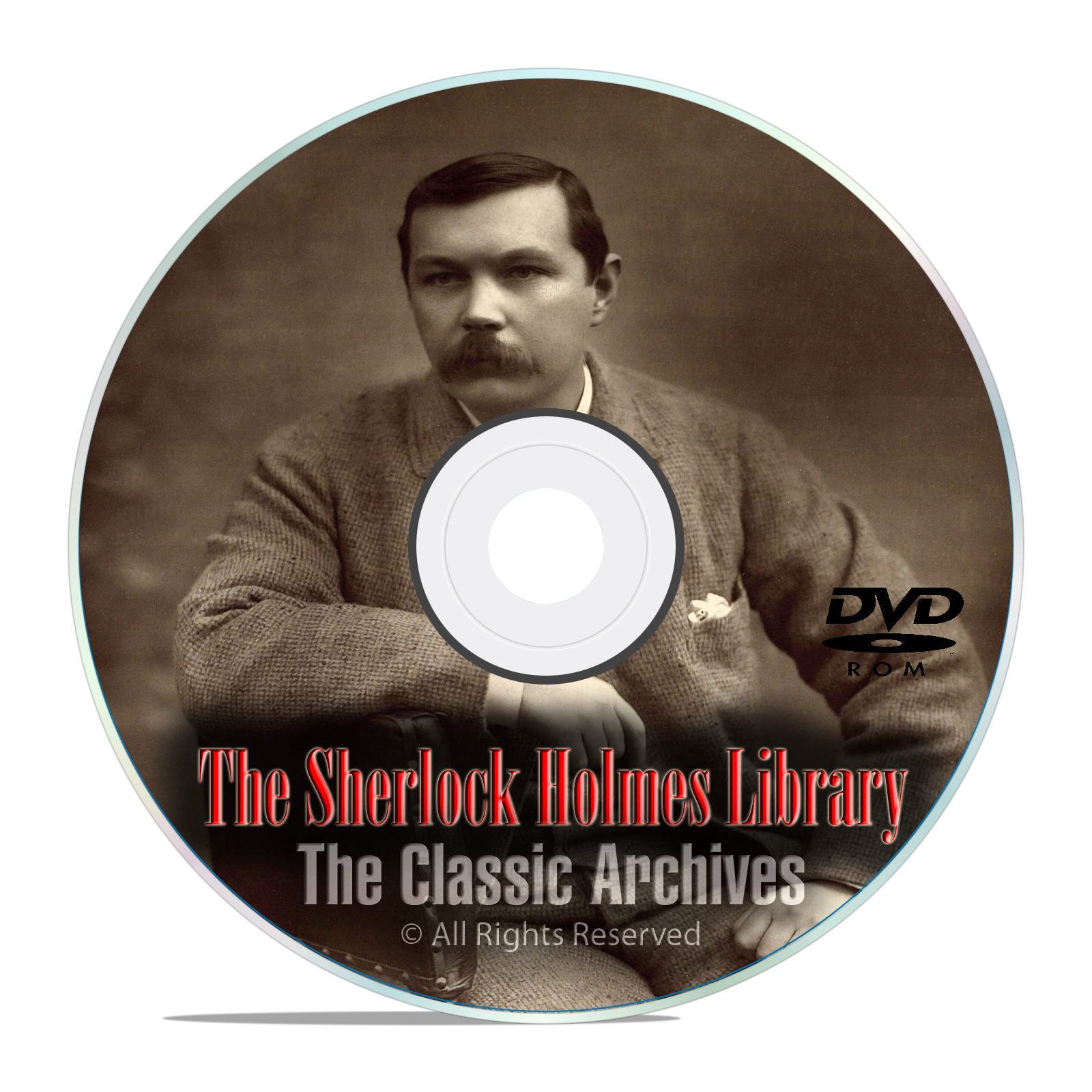 300+ Sherlock Holmes Audiobooks, and OTR Radio Drama Shows DVD