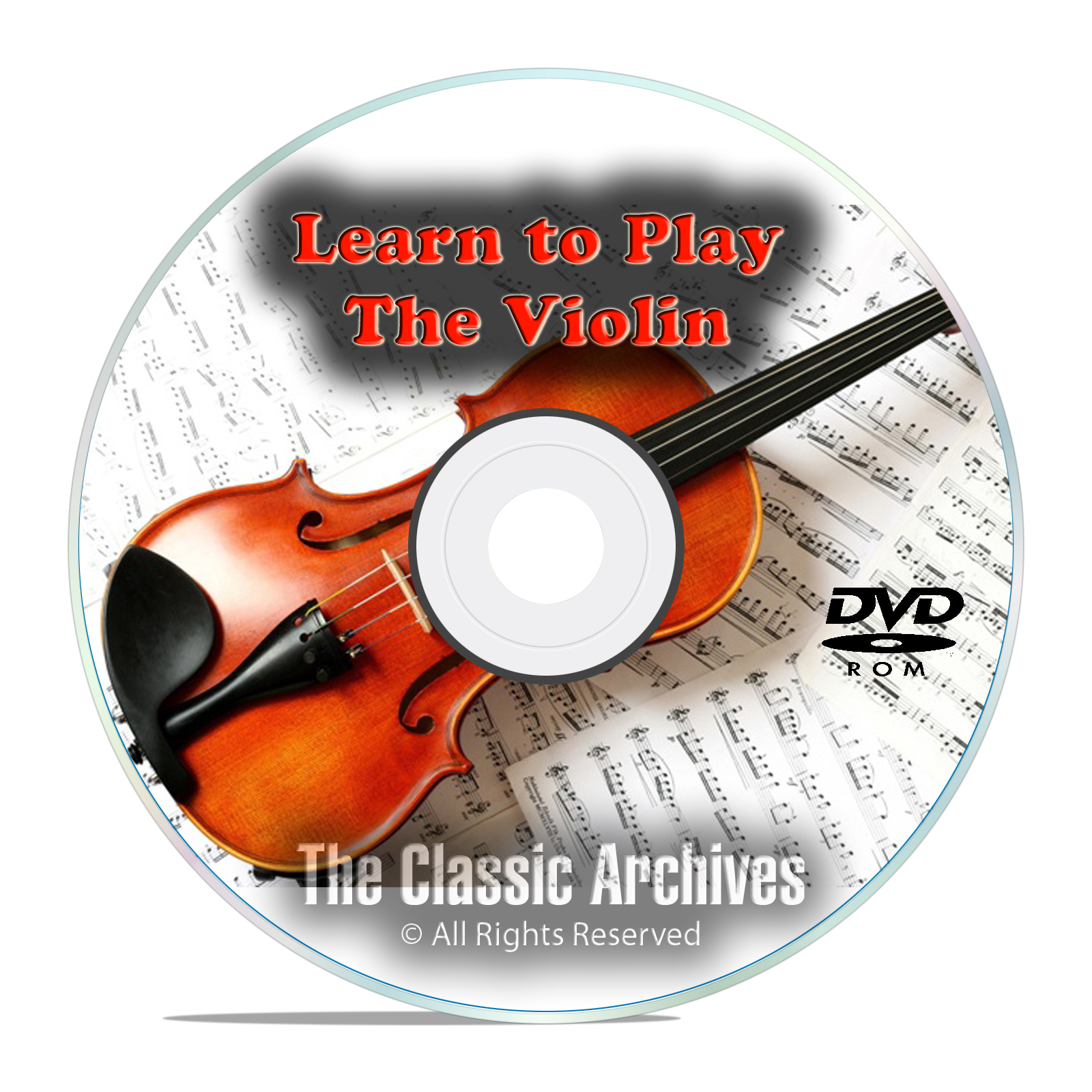 Learn How To Play Violin, Fiddle Beginner Instruction Tutorial Video DVD