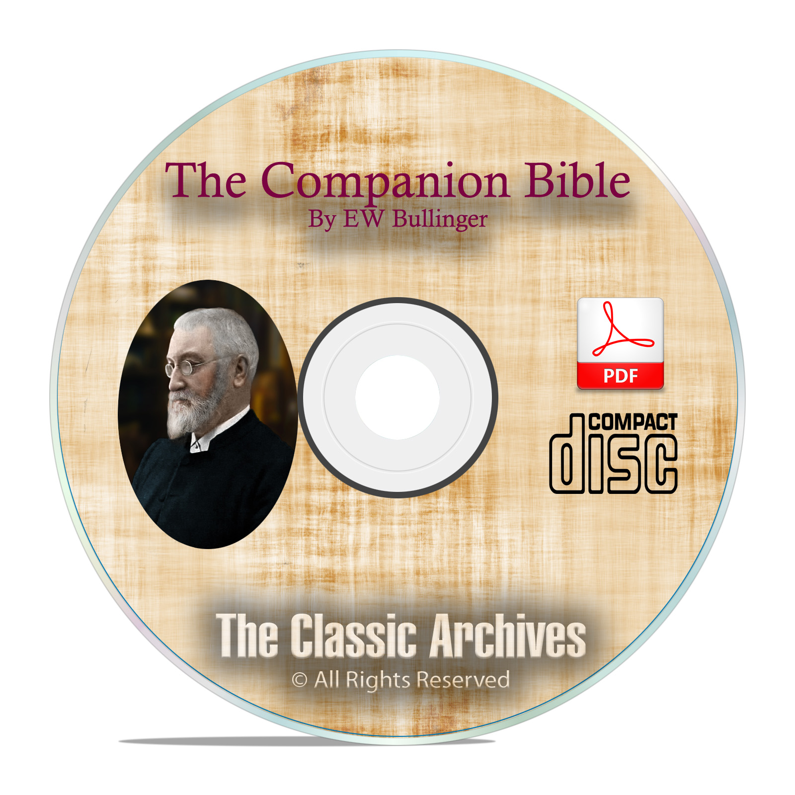 The Companion Bible, By E.W. Bullinger, Christian Bible Study Research CD