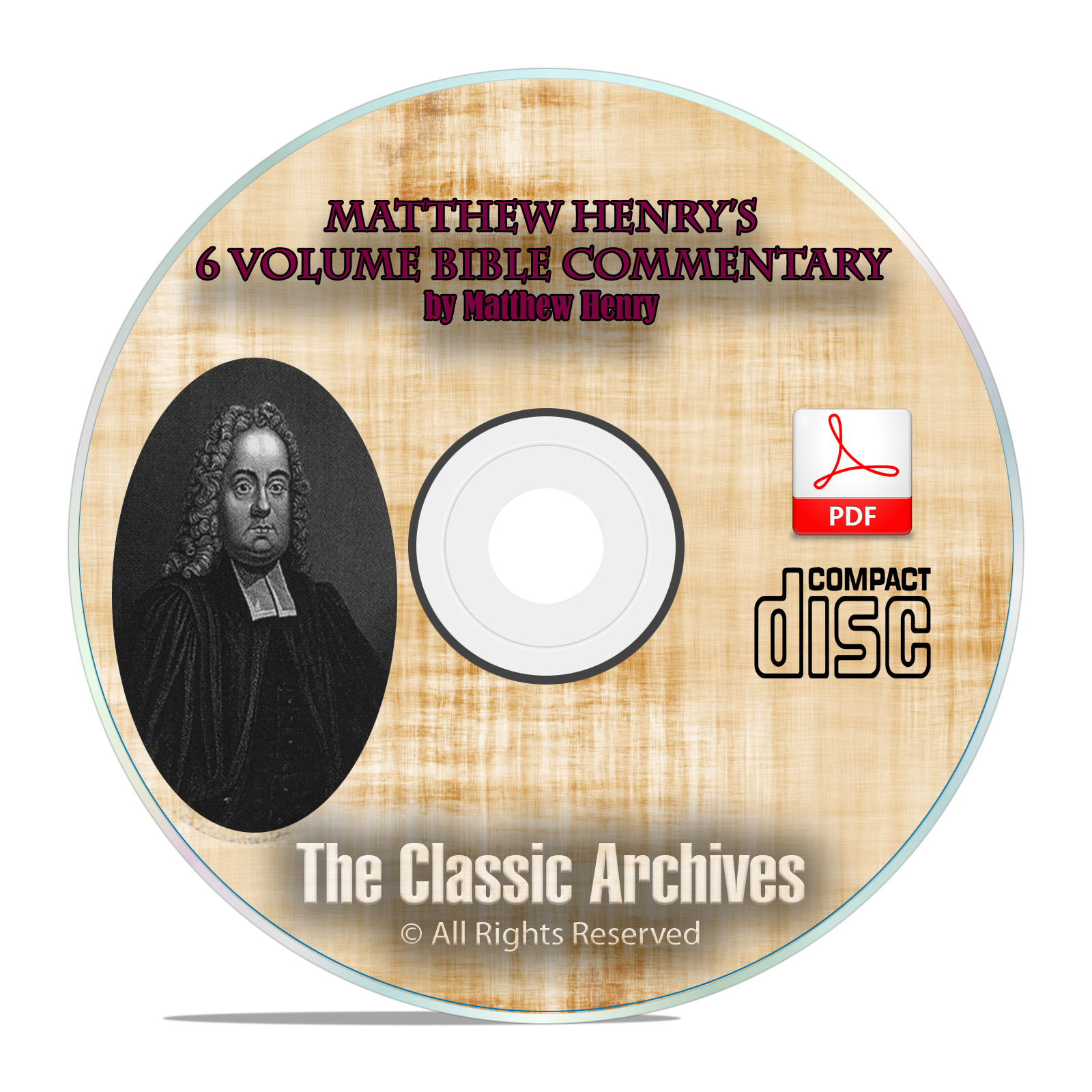 Matthew Henry's Commentary on The Bible, Christian Bible Study on CD-ROM - Click Image to Close
