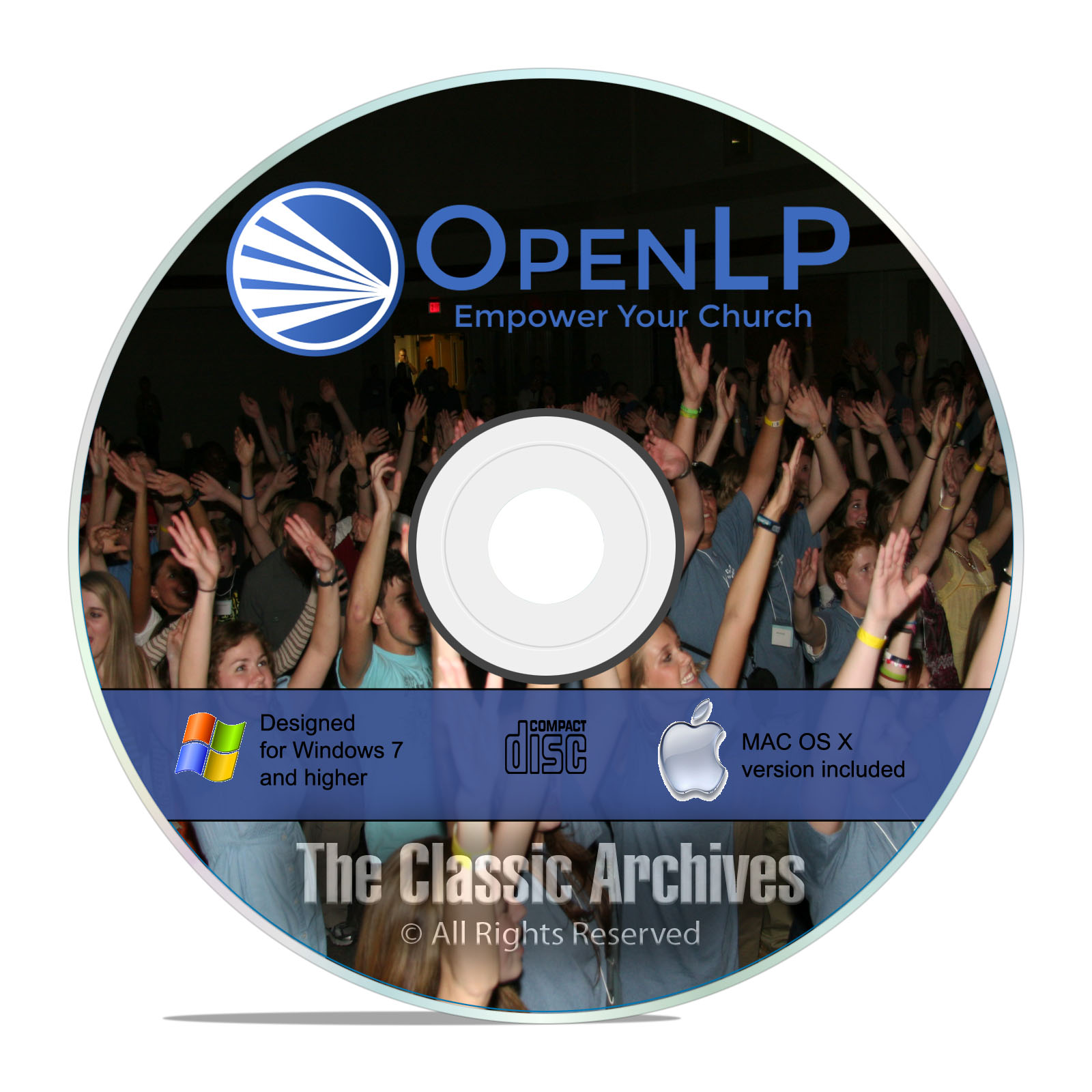OpenLP Professional Church Worship Presentation Bible Software Win Mac CD