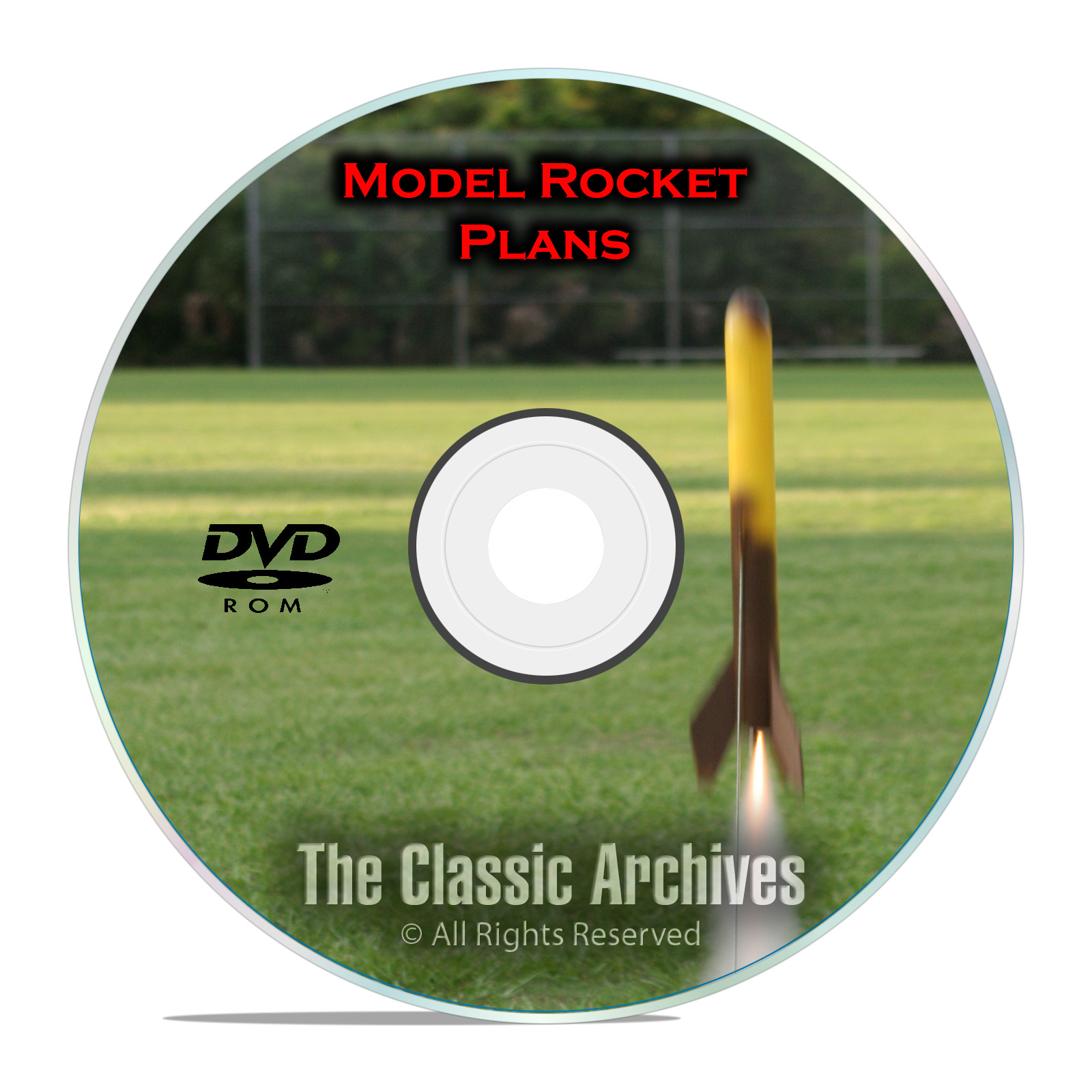 600+ Model Rocket Plans, Rocketry, Estes, Centuri, Fat Cat Canaroc, PDF DVD
