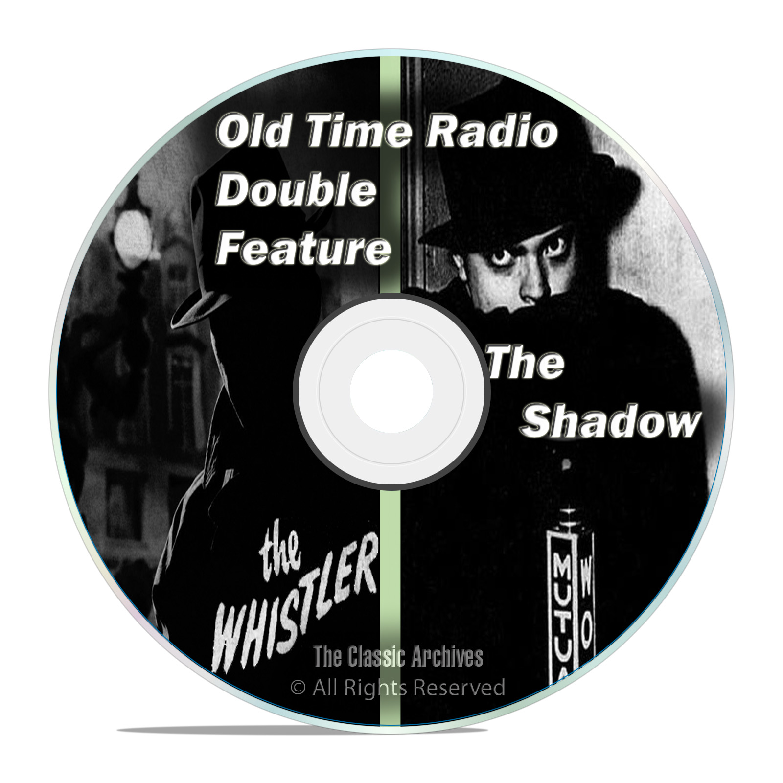 The Shadow, + The Whistler, 550 SHOWS, Old Time Radio, OTR, Suspense DVD