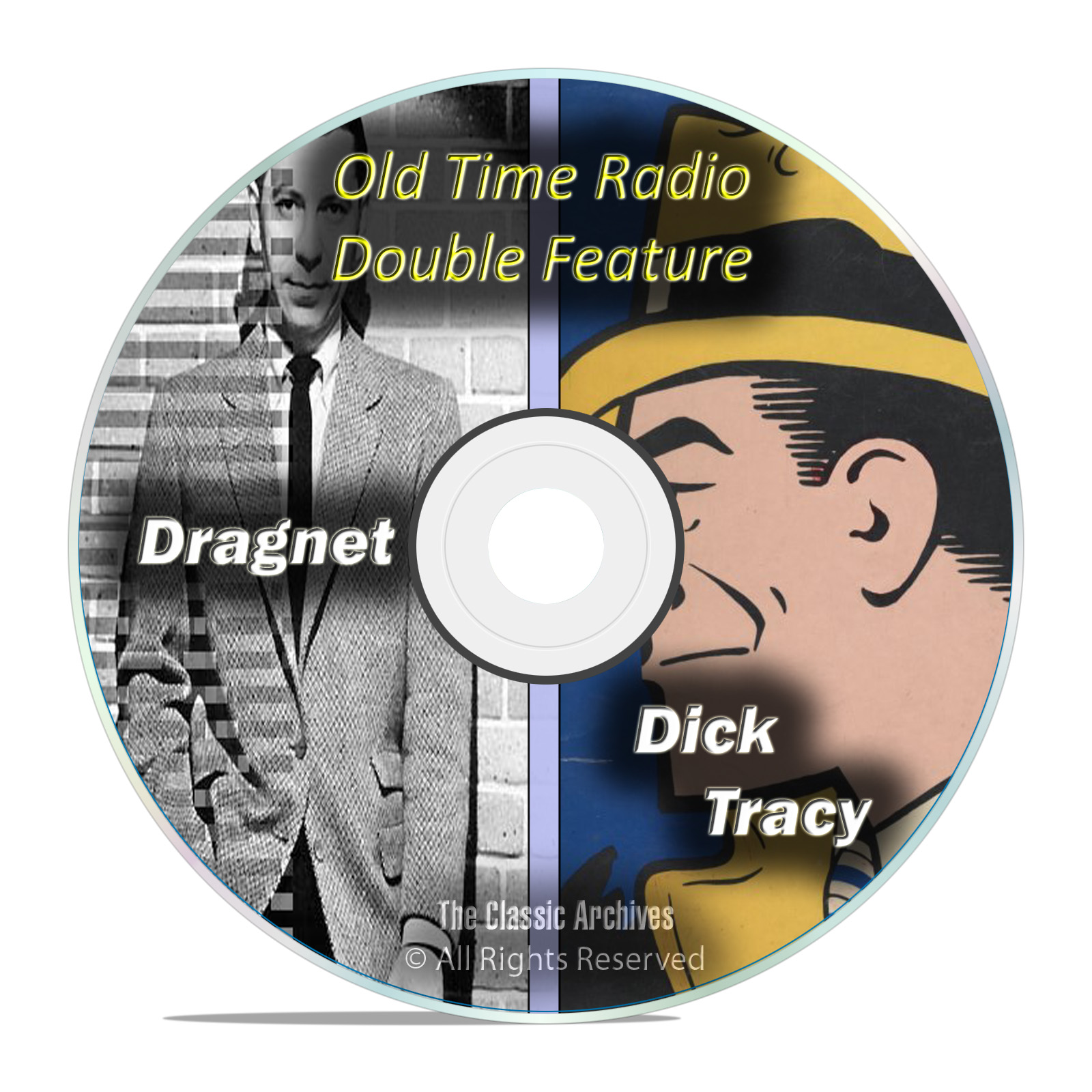Dragnet, Dick Tracy, 443 Shows, ALL Known Episodes, Old Time Radio, OTR DVD