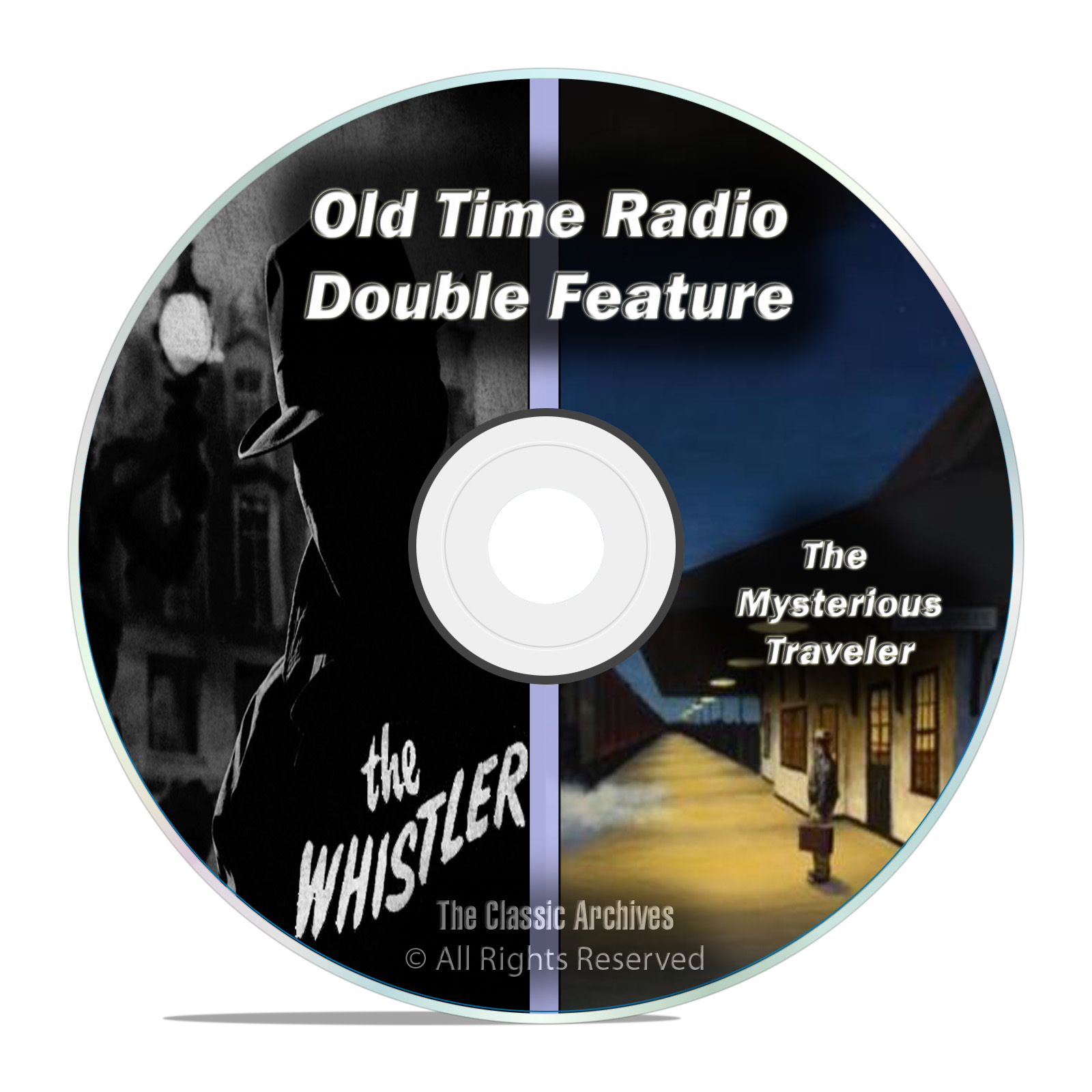 The Whistler + Mysterious Traveler, ALL 601 Shows, Old Time Radio, OTR, DVD