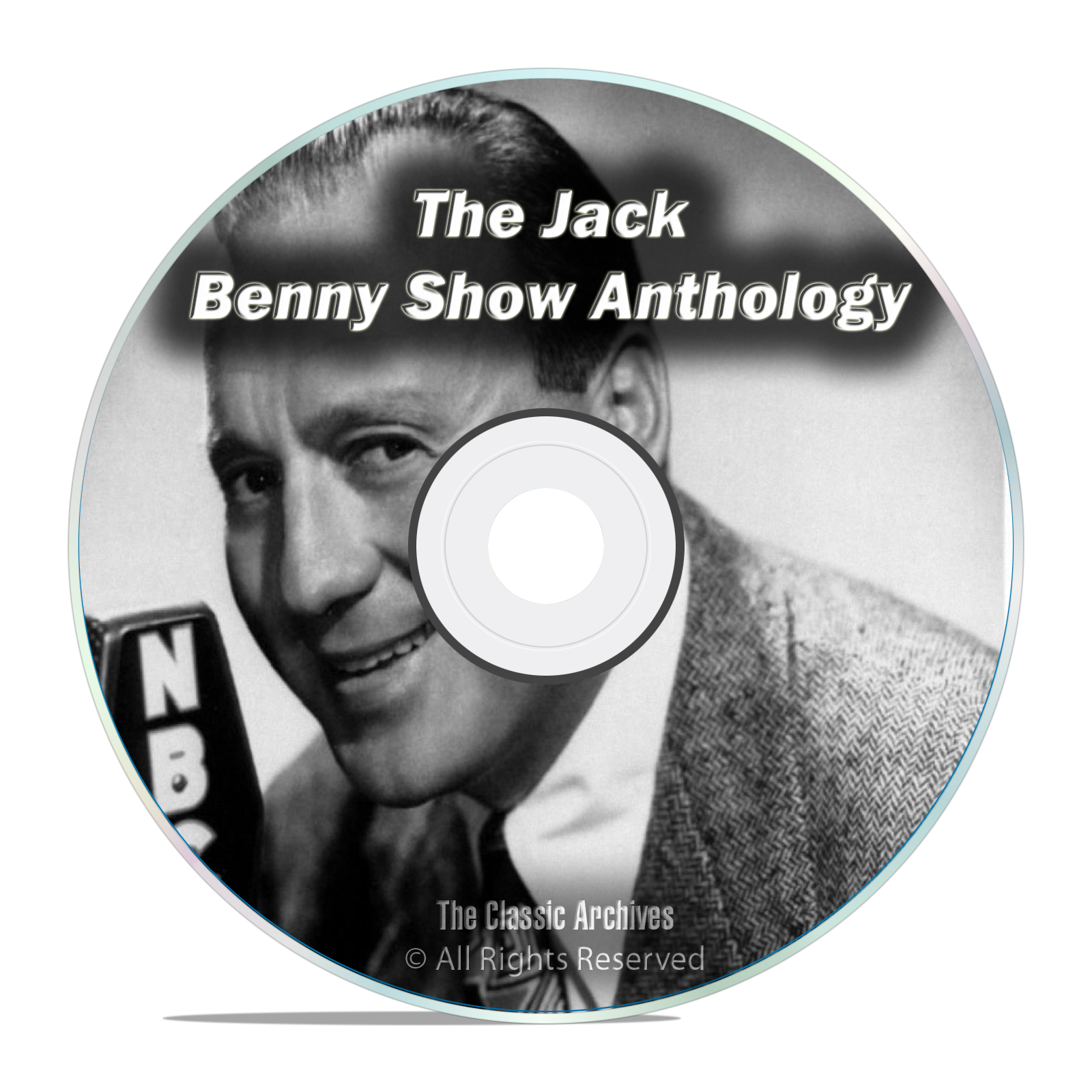 The Jack Benny Show Anthology, 869 shows ALL KNOWN Shows Old Time Radio DVD