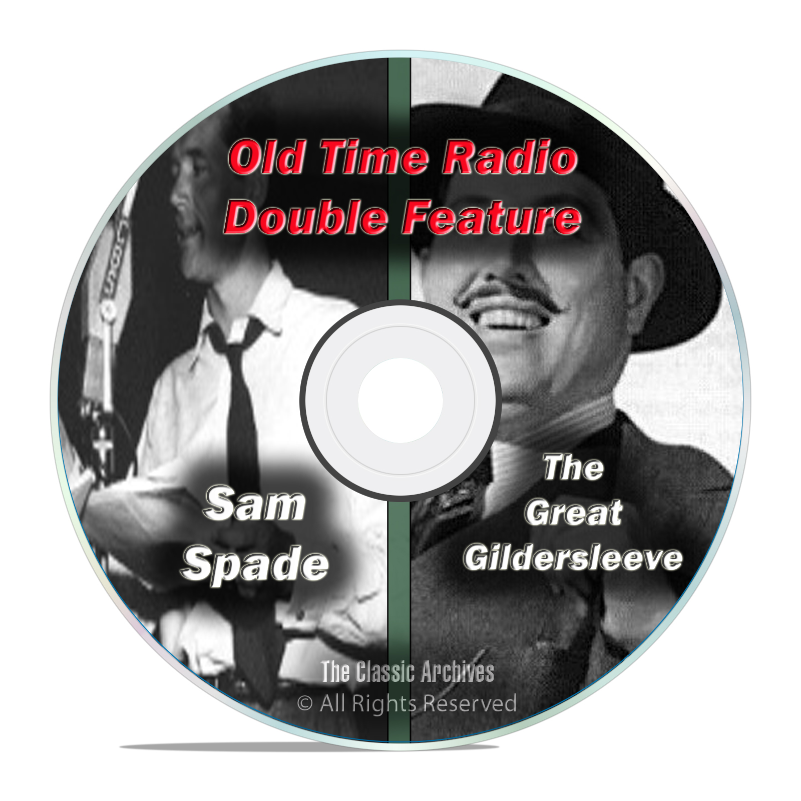 The Great Gildersleeve & Adventures of Sam Spade, 667 FULL SHOWS, OTR DVD
