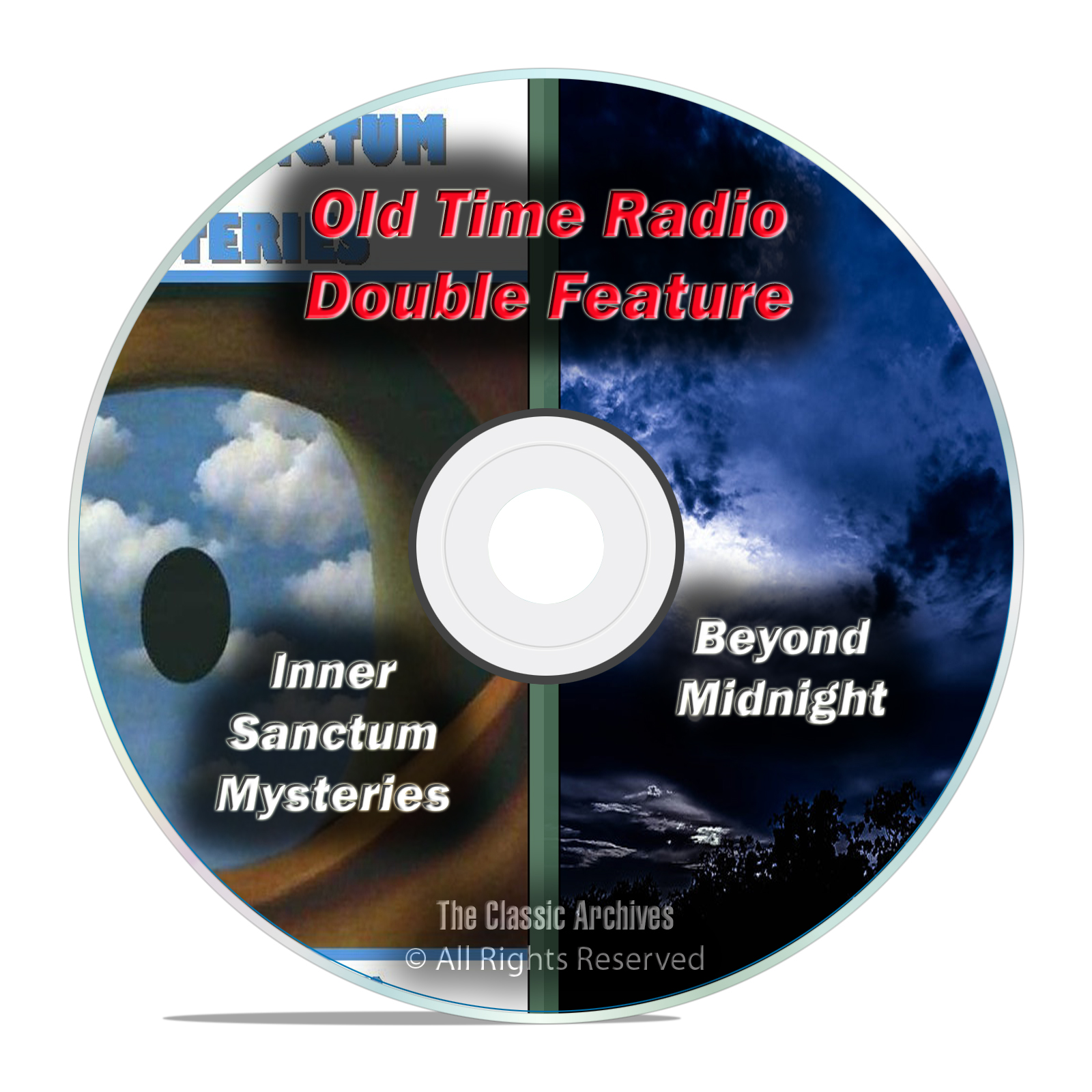 Beyond Midnight & Inner Sanctum Mysteries, 308 FULL RUN SHOWS, OTR DVD