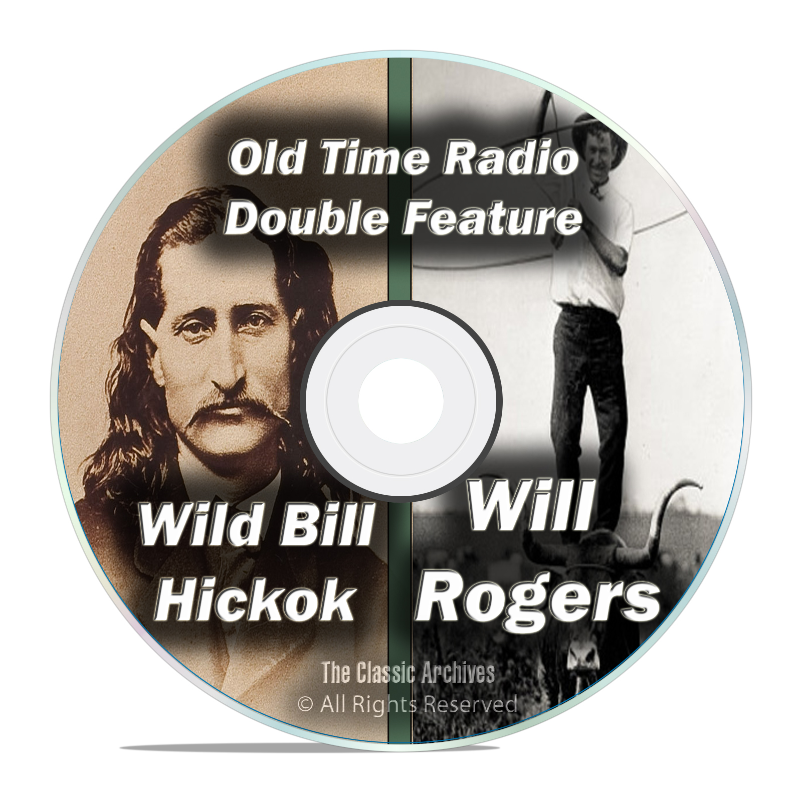 Wild Bill Hickok, Will Rogers, 426 FULL RUN Old Time Radio Shows MP3 DVD