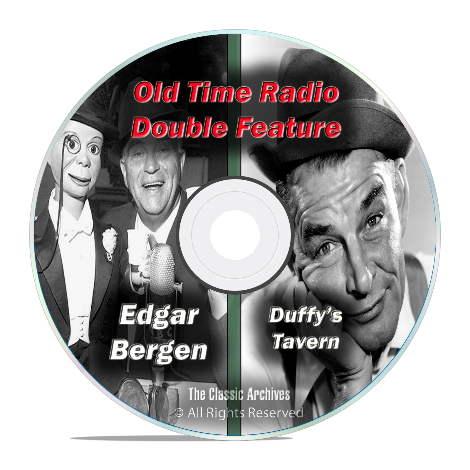 Edgar Bergen, Duffy's Tavern All Known 447 Old Time Radio Shows OTR MP3 DVD