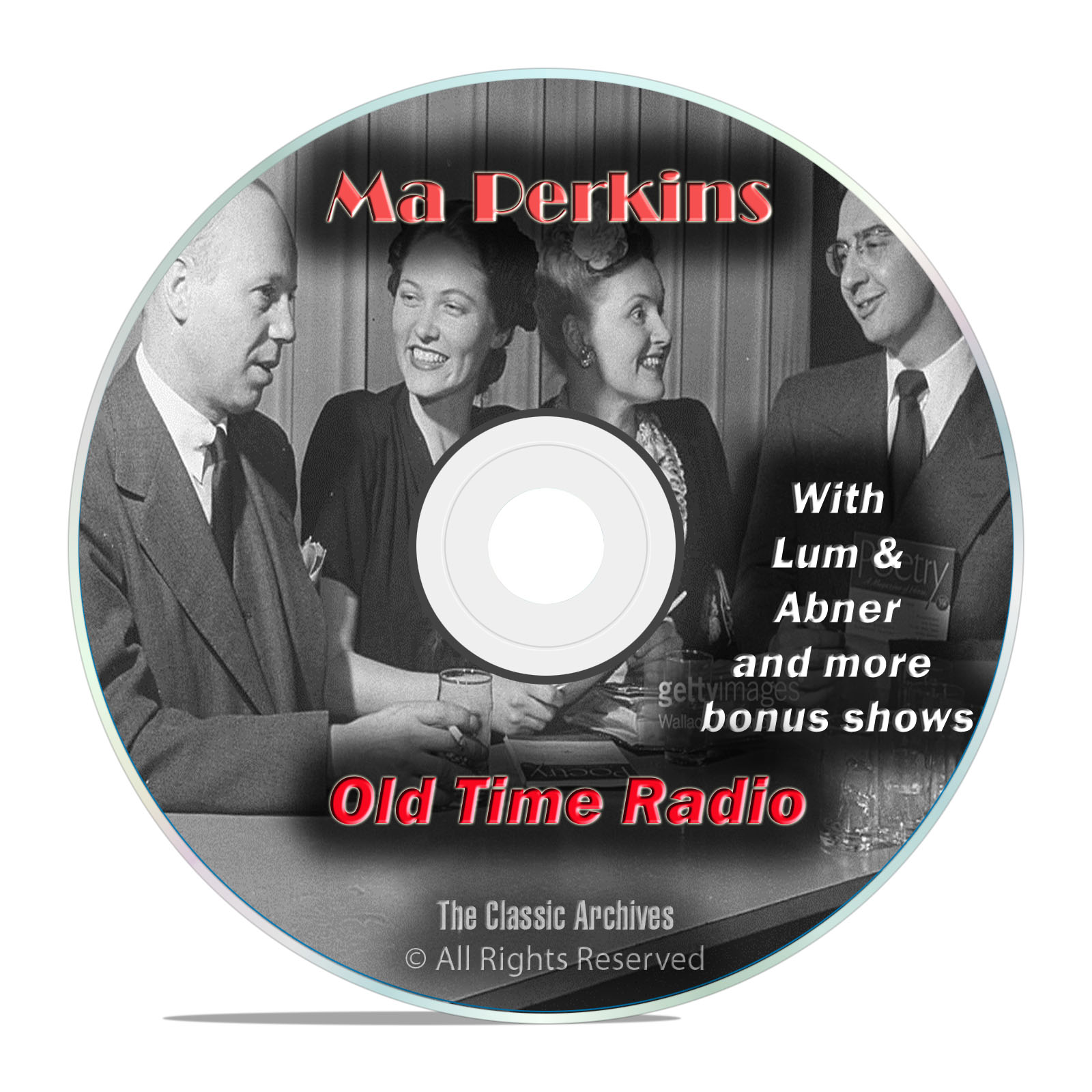 Ma Perkins, 1,854 Episodes Old Time Radio, Complete Set, Comedy OTR DVD MP3