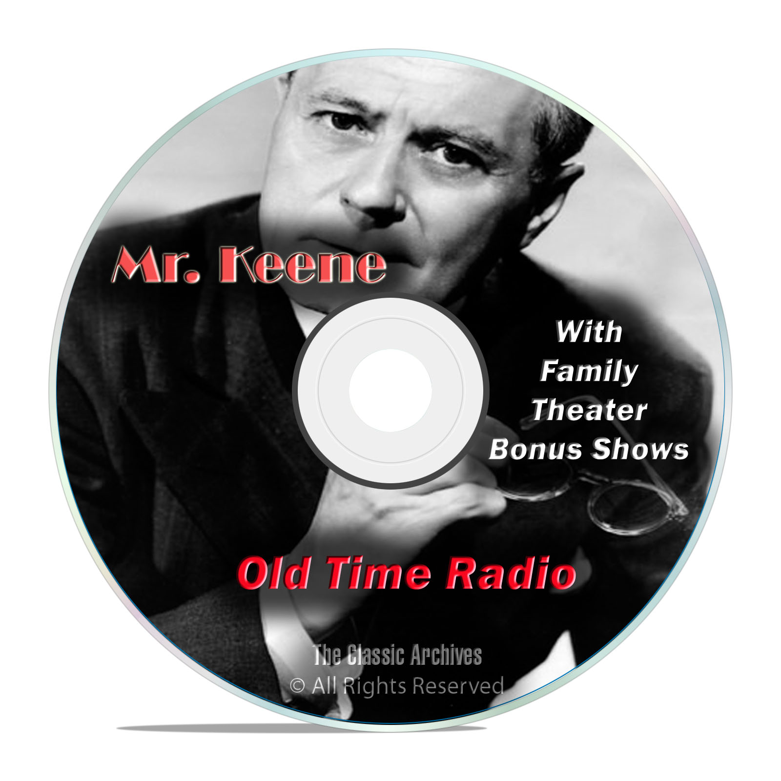 Mr. Keene, Tracer of Lost Persons, 601 Classic Old Time Radio Shows, OTR