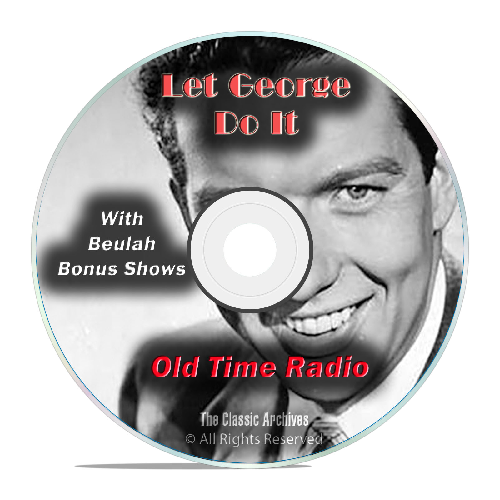 Let George Do It, 713 Classic Old Time Radio Drama Shows, OTR mp3 DVD