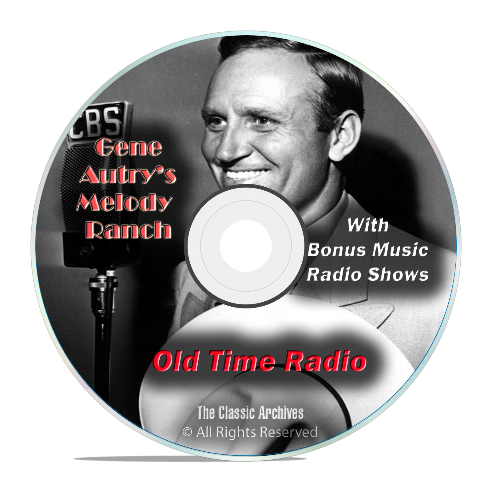Gene Autry's Melody Ranch, 422 Old Time Radio Music Shows, OTR mp3 DVD