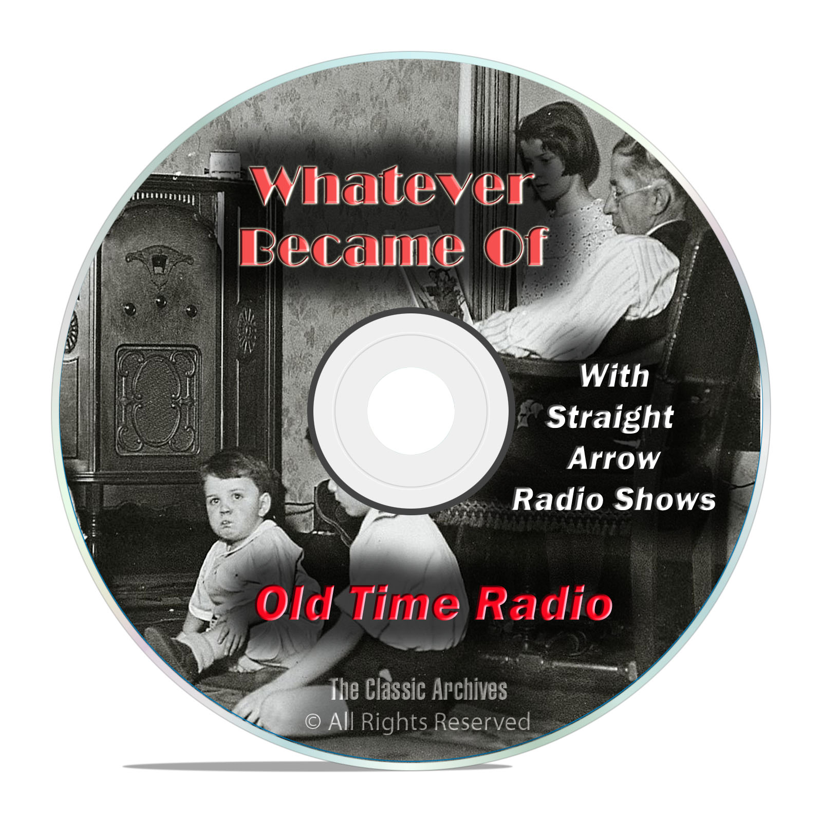 Whatever Became Of, 1,074 Classic Old Time Radio Shows, OTR mp3 DVD