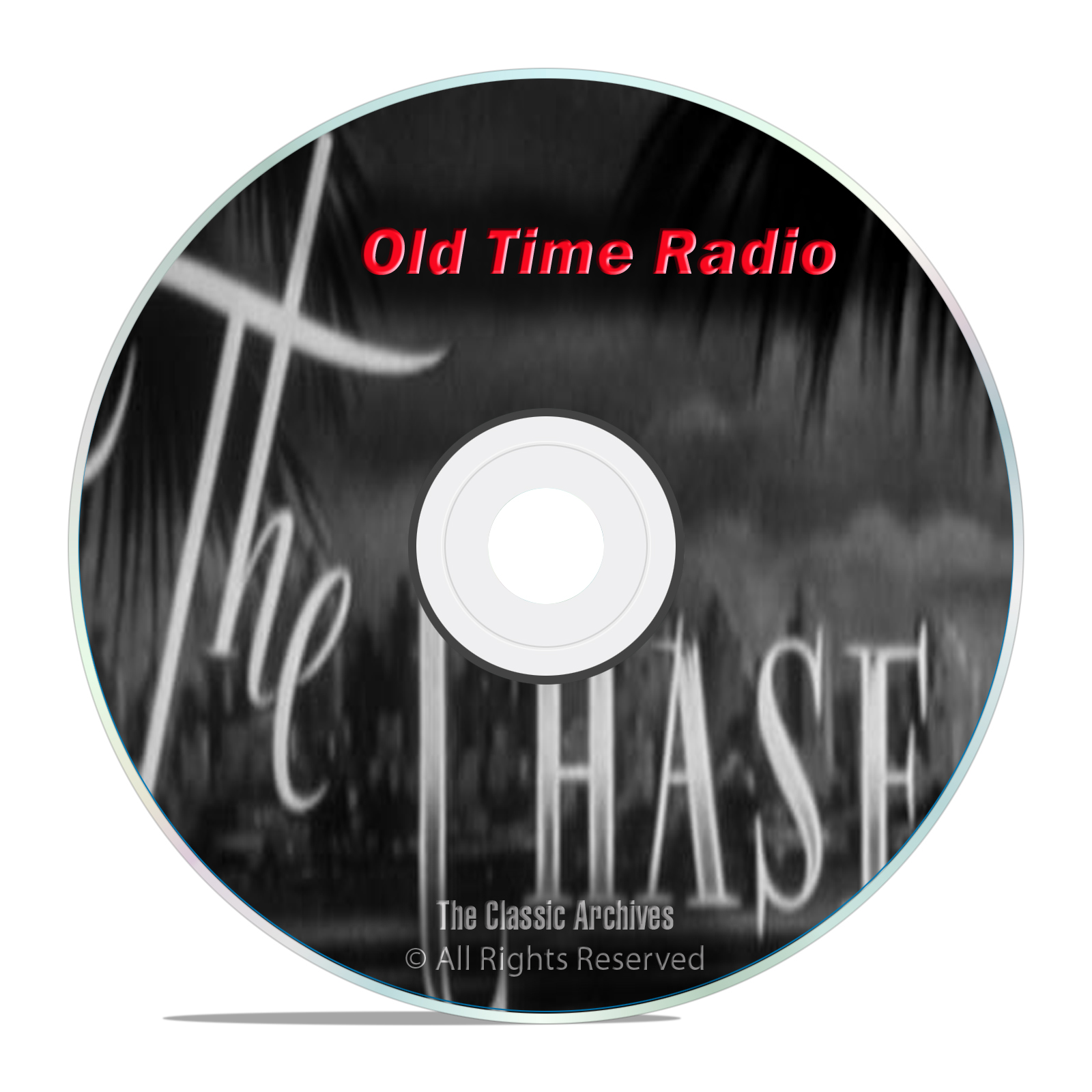 The Chase, 676 Classic Old Time Radio Action Adventure Shows, OTR mp3 DVD