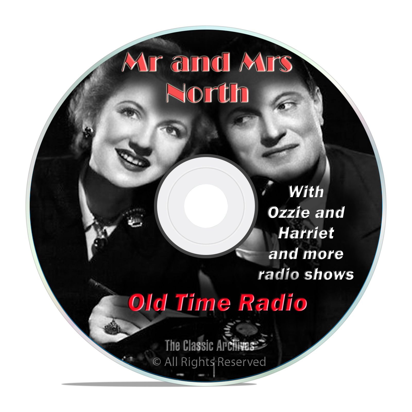 Mr and Mrs North, 584 Classic Old Time Radio Shows Mystery Drama OTR mp3