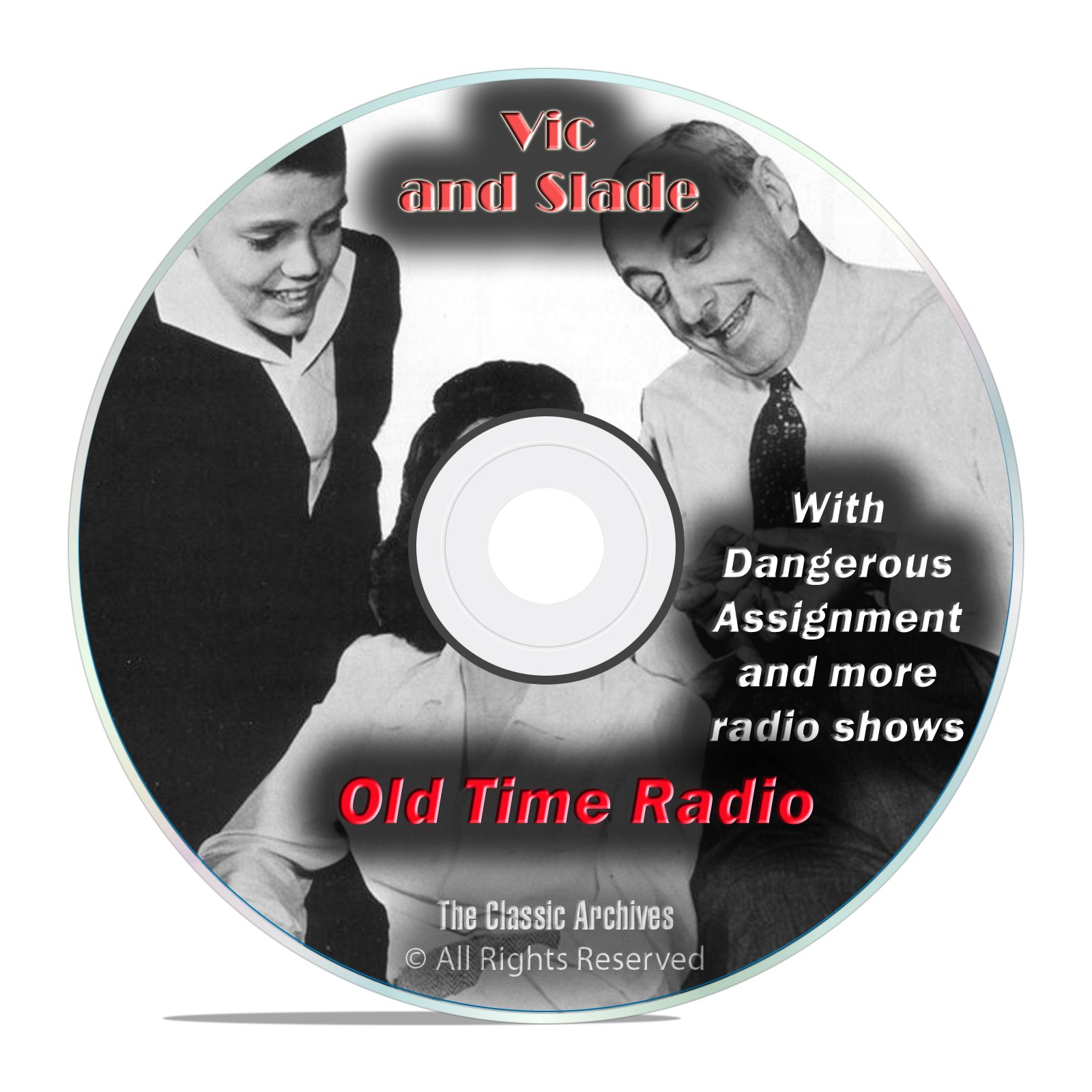 Vic and Slade, 942 Classic Old Time Radio Shows Soap Drama OTR mp3 DVD