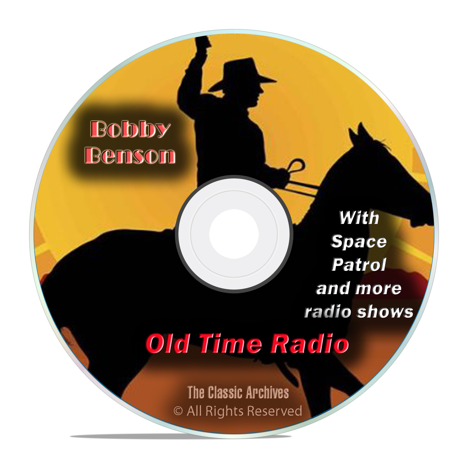Bobby Benson, 798 Classic Old Time Radio Shows Western and SciFi OTR DVD