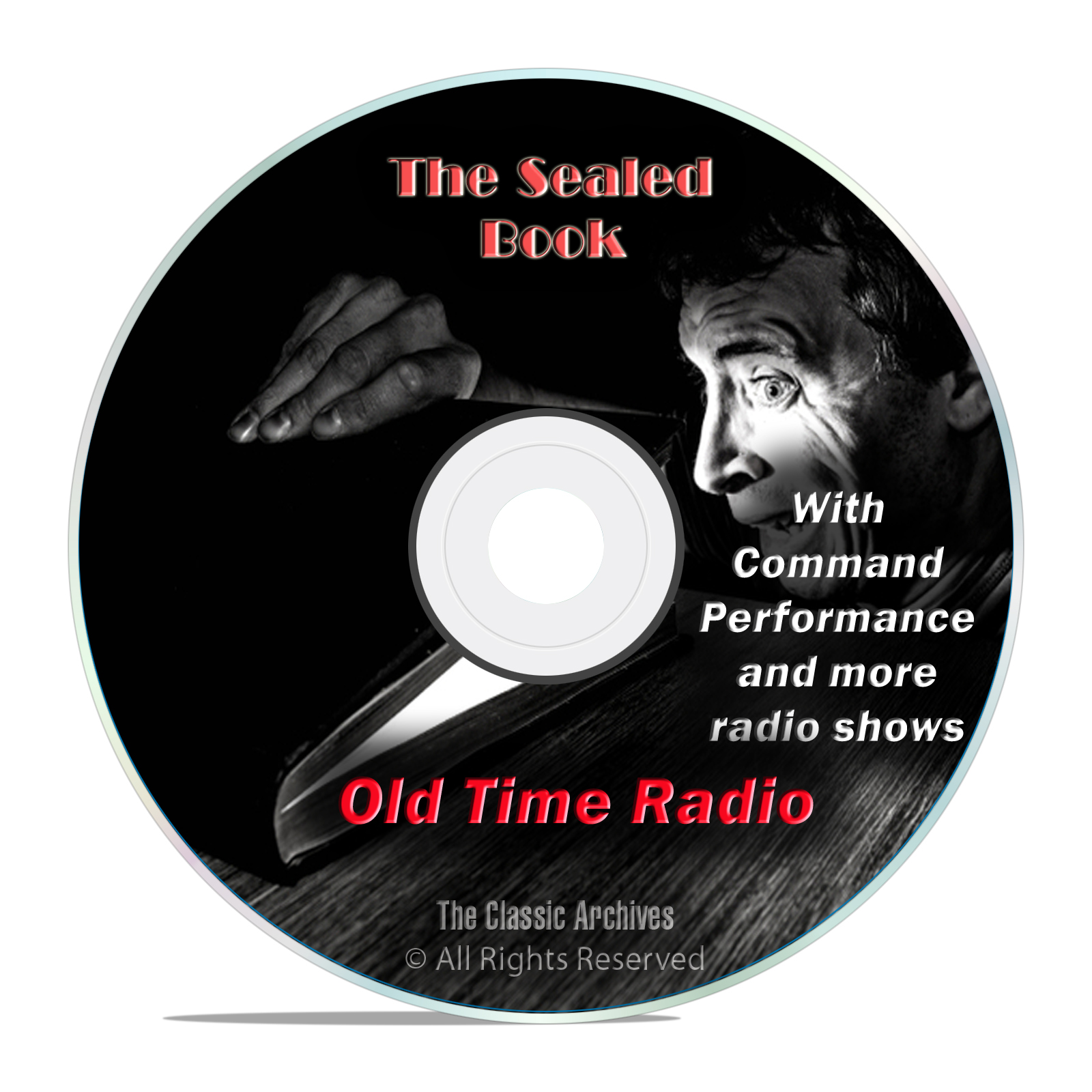 The Sealed Book, 621 Classic Old Time Radio Shows Horror Thriller OTR DVD
