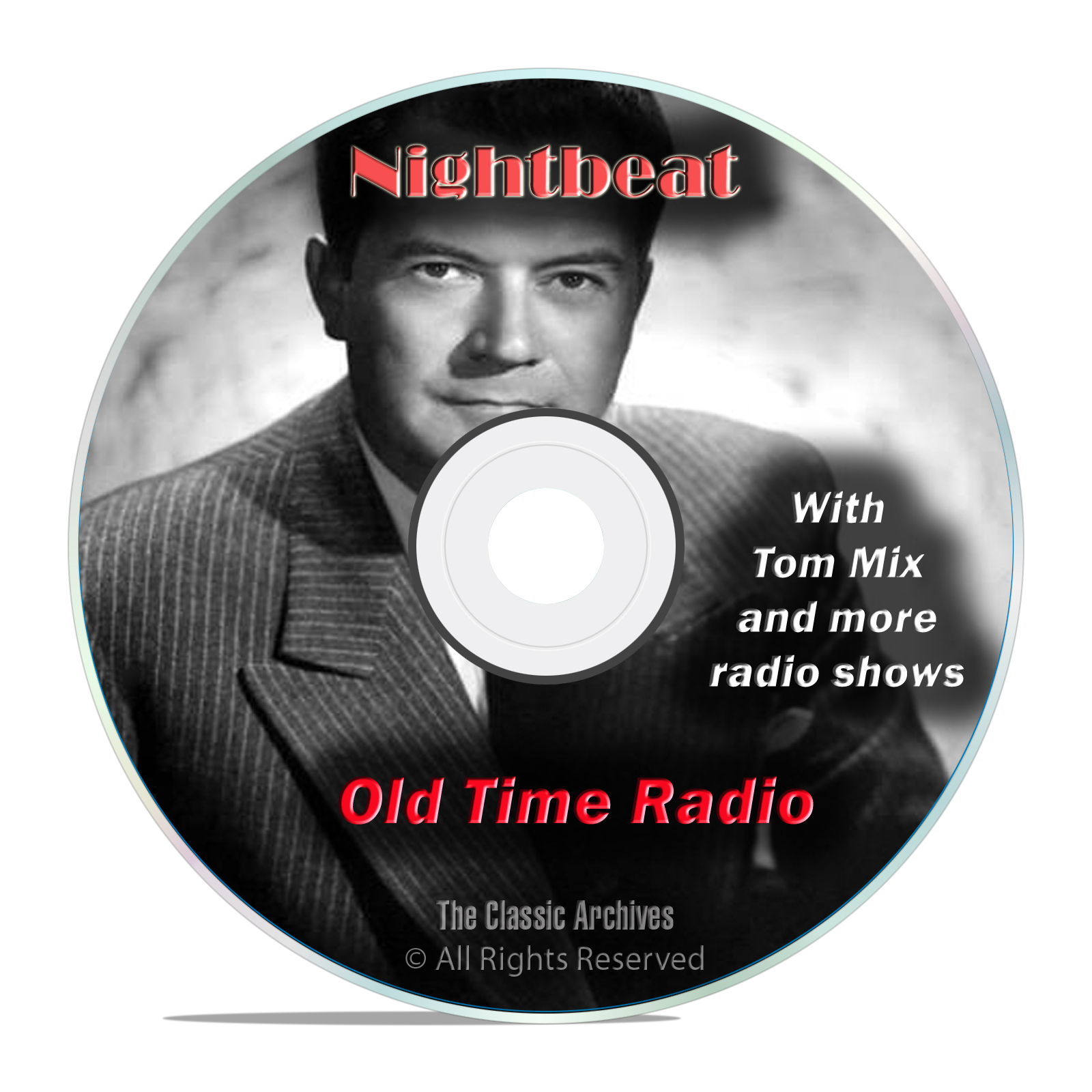 Nightbeat, 599 Classic Old Time Radio Shows, Crime Drama, Reporter, OTR DVD