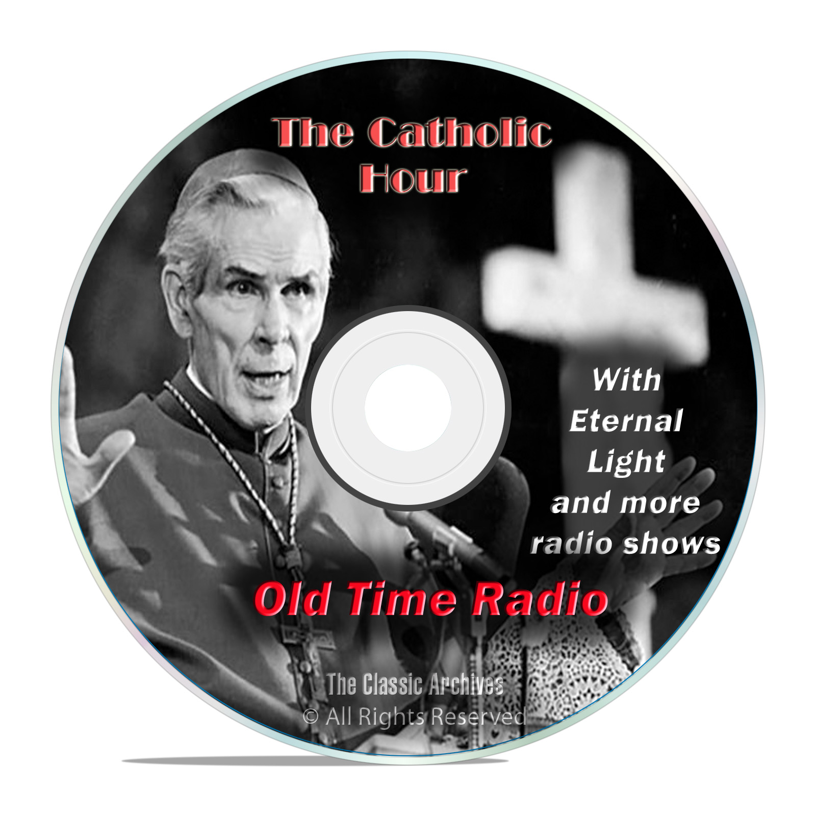 The Catholic Hour, 673 Classic Old Time Radio Religious Shows mp3 OTR DVD