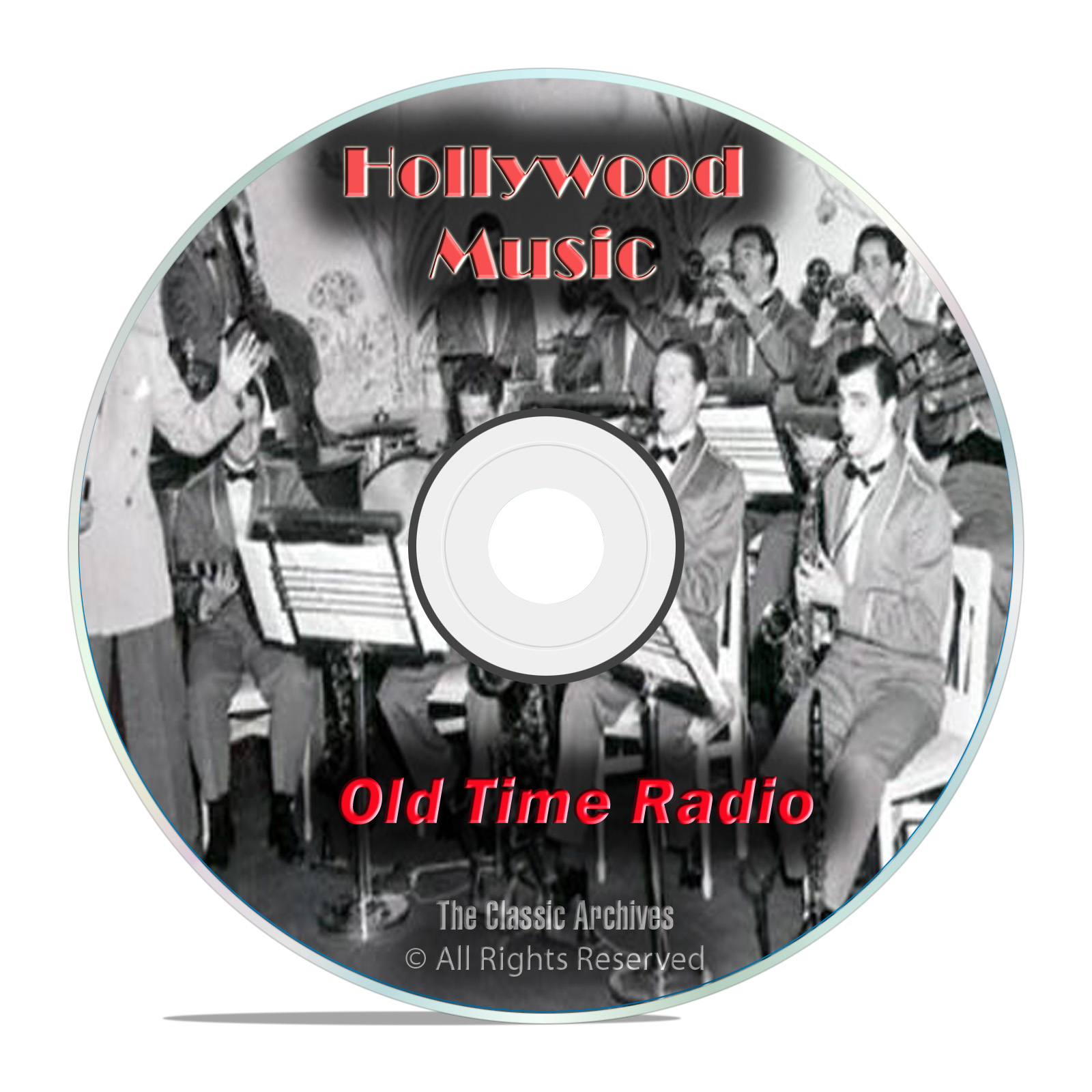 764 Classic Hollywood Music Old Time Radio Shows, Variety, Country OTR DVD