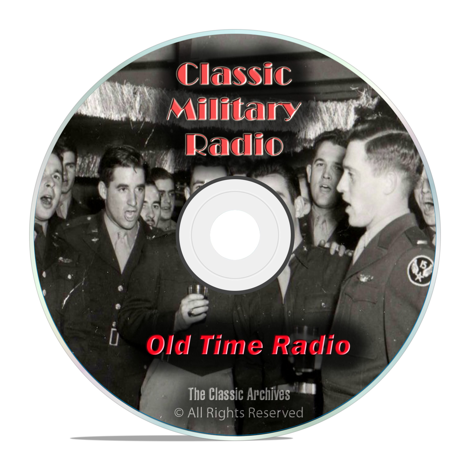 852 Classic Military Old Time Radio Shows, Army, Navy, Marines OTR mp3 DVD