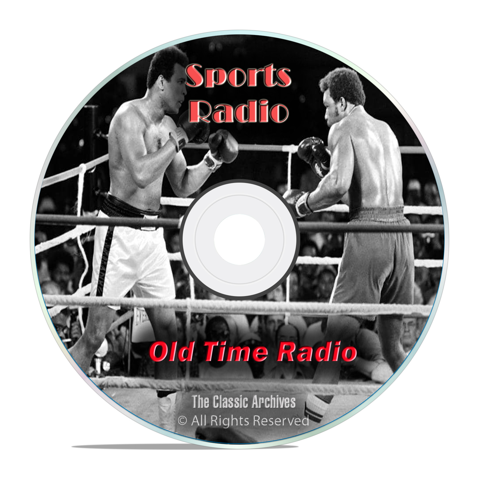 Boxing, Historic American Sports News, 254 Old Time Radio Shows, OTR DVD