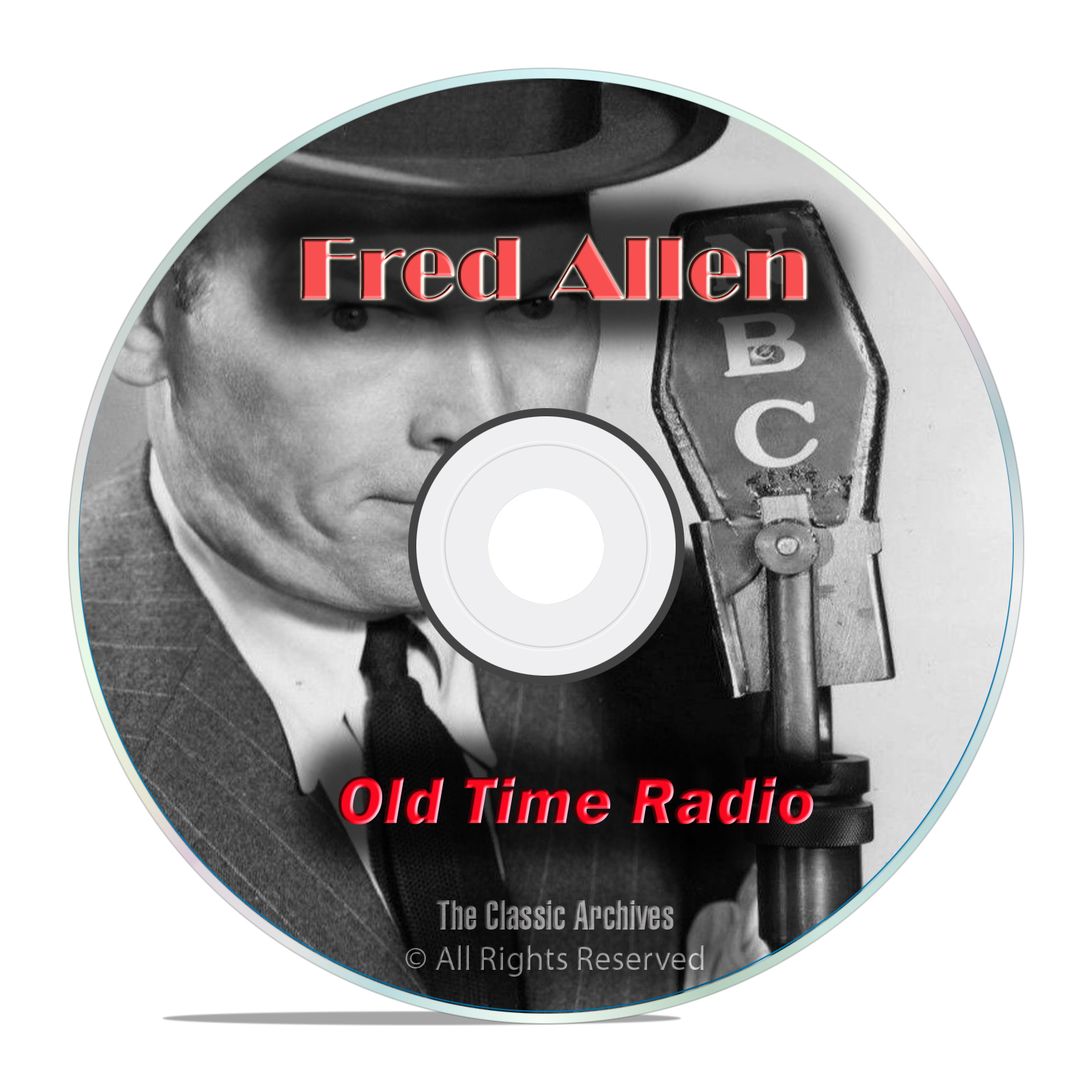 Fred Allen, Comedy, Music & Variety Shows, 849 Old Time Radio Shows, OTR