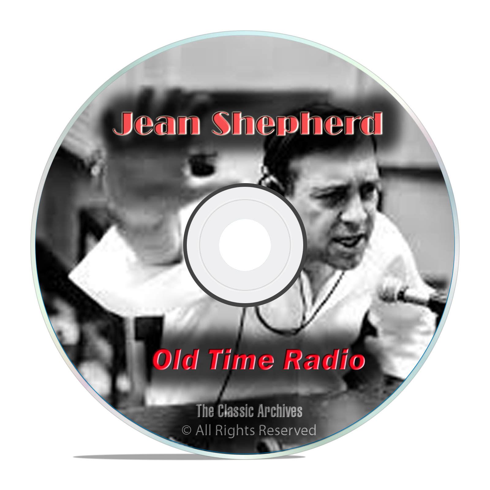 The Jean Shepherd Show, with bonus shows, 447 Old Time Radio Shows, OTR DVD