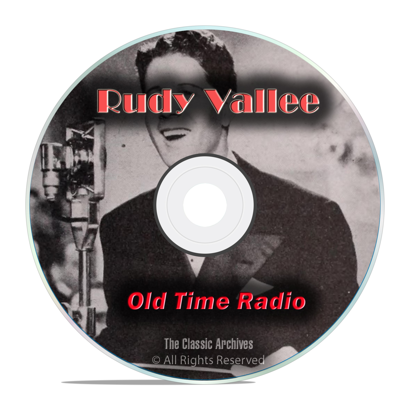 The Rudy Vallee Show, with bonus shows, 637 Old Time Radio Shows, OTR DVD