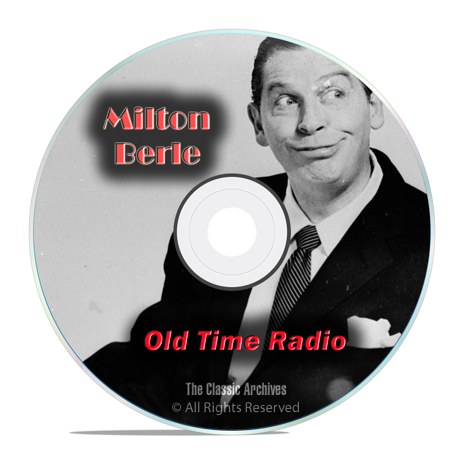 The Milton Berle Show, 495 Old Time Radio Comedy, Music Shows, OTR DVD