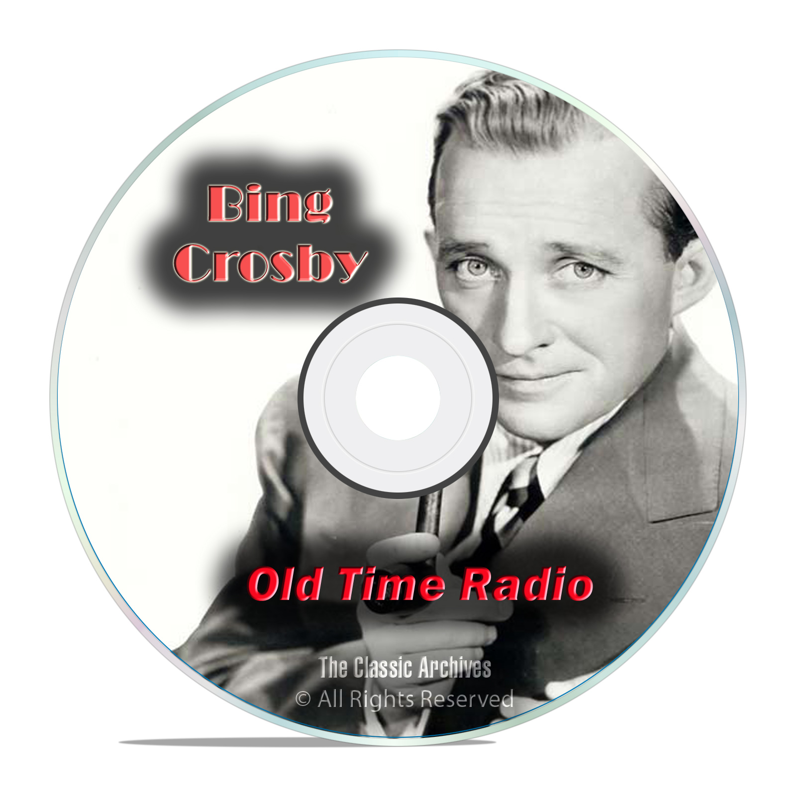 Bing Crosby and Rosemary Clooney, 776 Old Time Radio Comedy Shows, OTR DVD