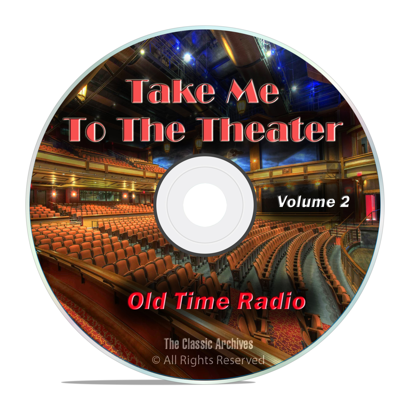 Take Me To The Theater, 541 Old Time Radio Theater, Musical Shows, Vol 2
