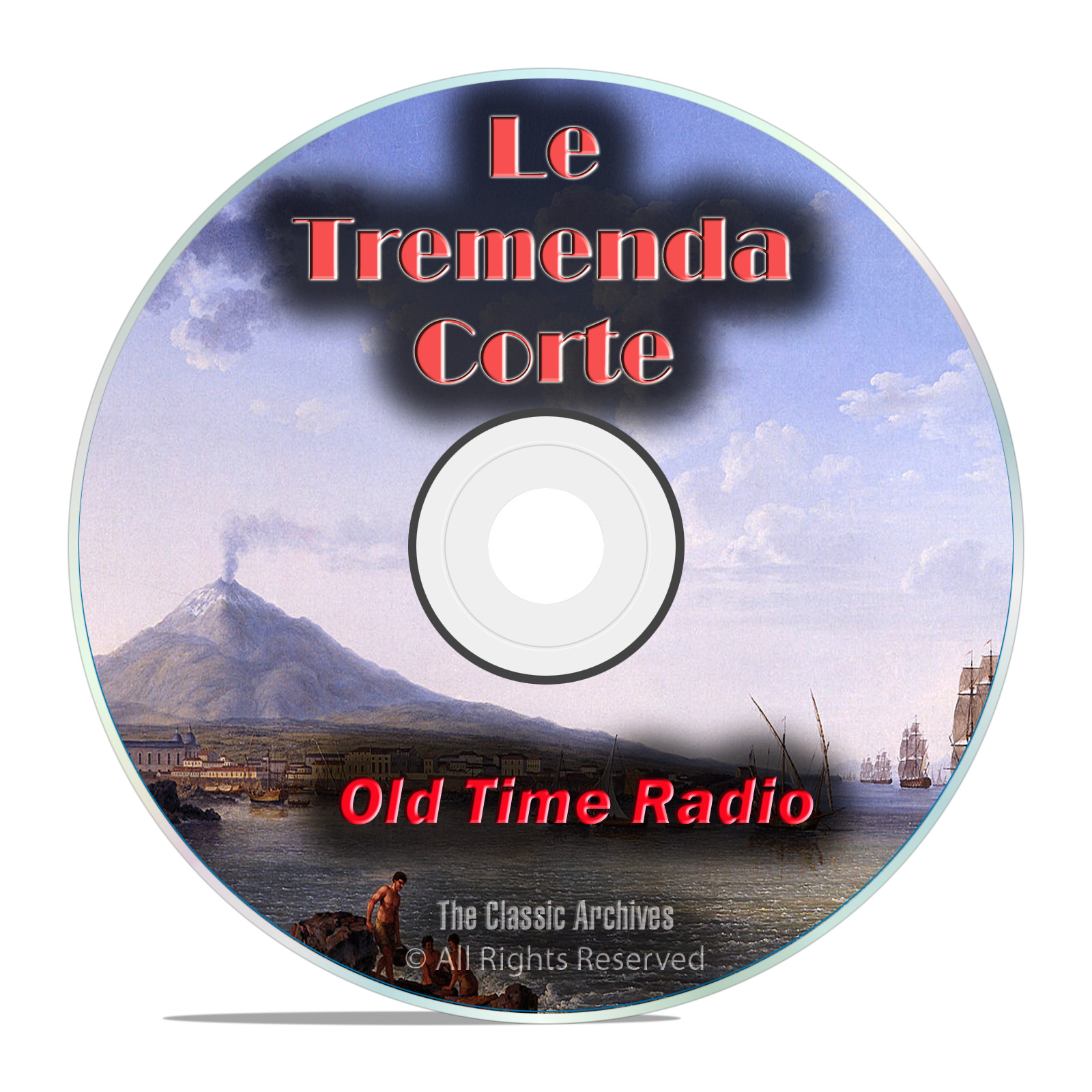 La Tremende Corte, 260 Spanish Old Time Radio Shows, Cuban mp3 DVD