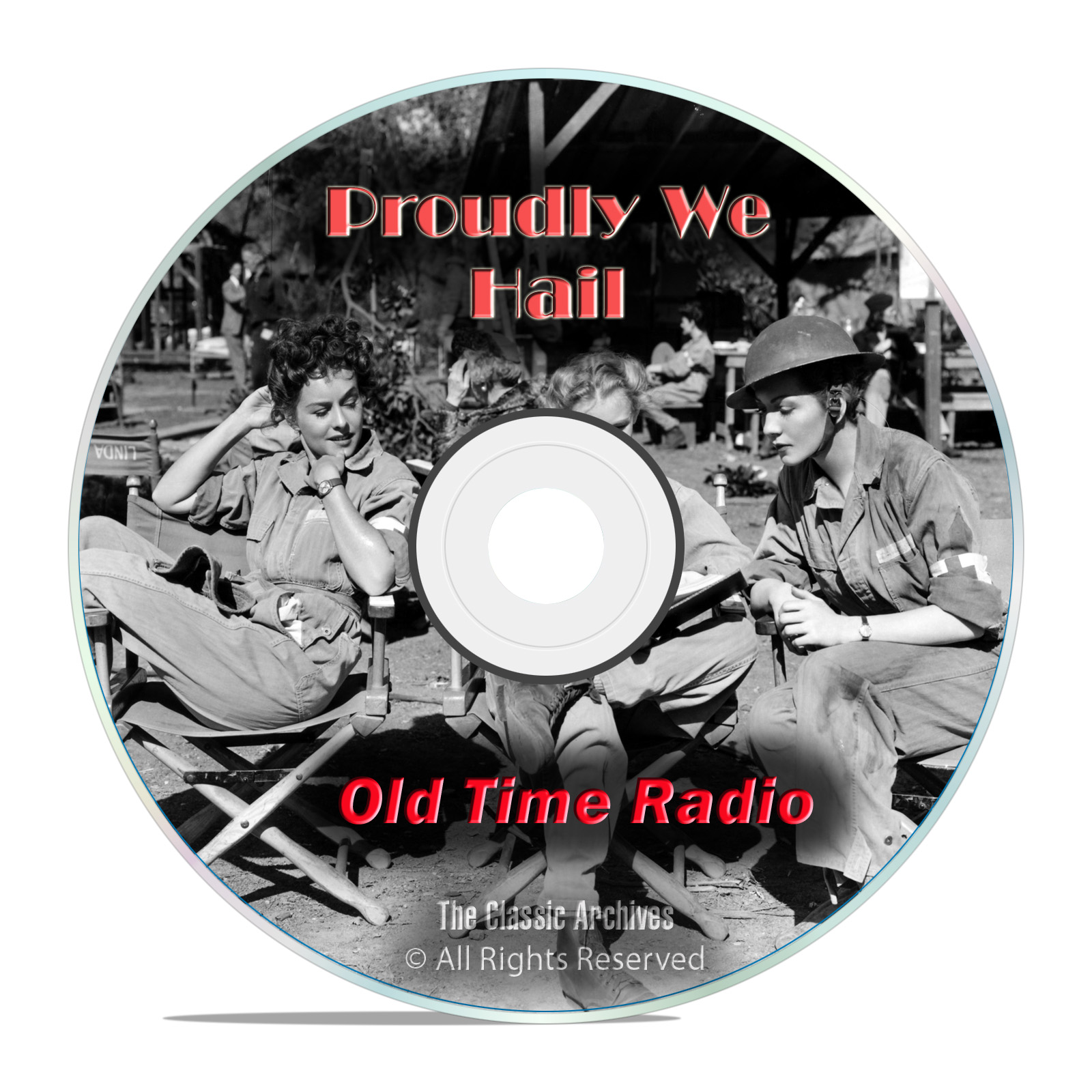 Proudly We Hail, 929 Old Time Radio Shows WWII Army World War mp3 DVD