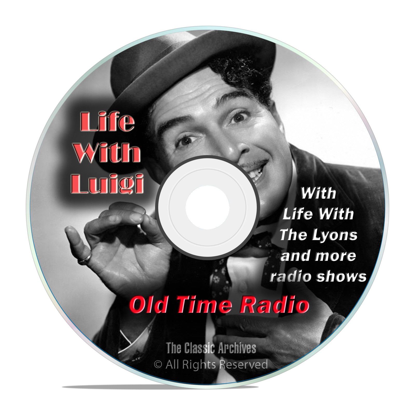 Life With Luigi, 924 Old Time Radio Sitcom Comedy Shows With Bonus mp3 DVD