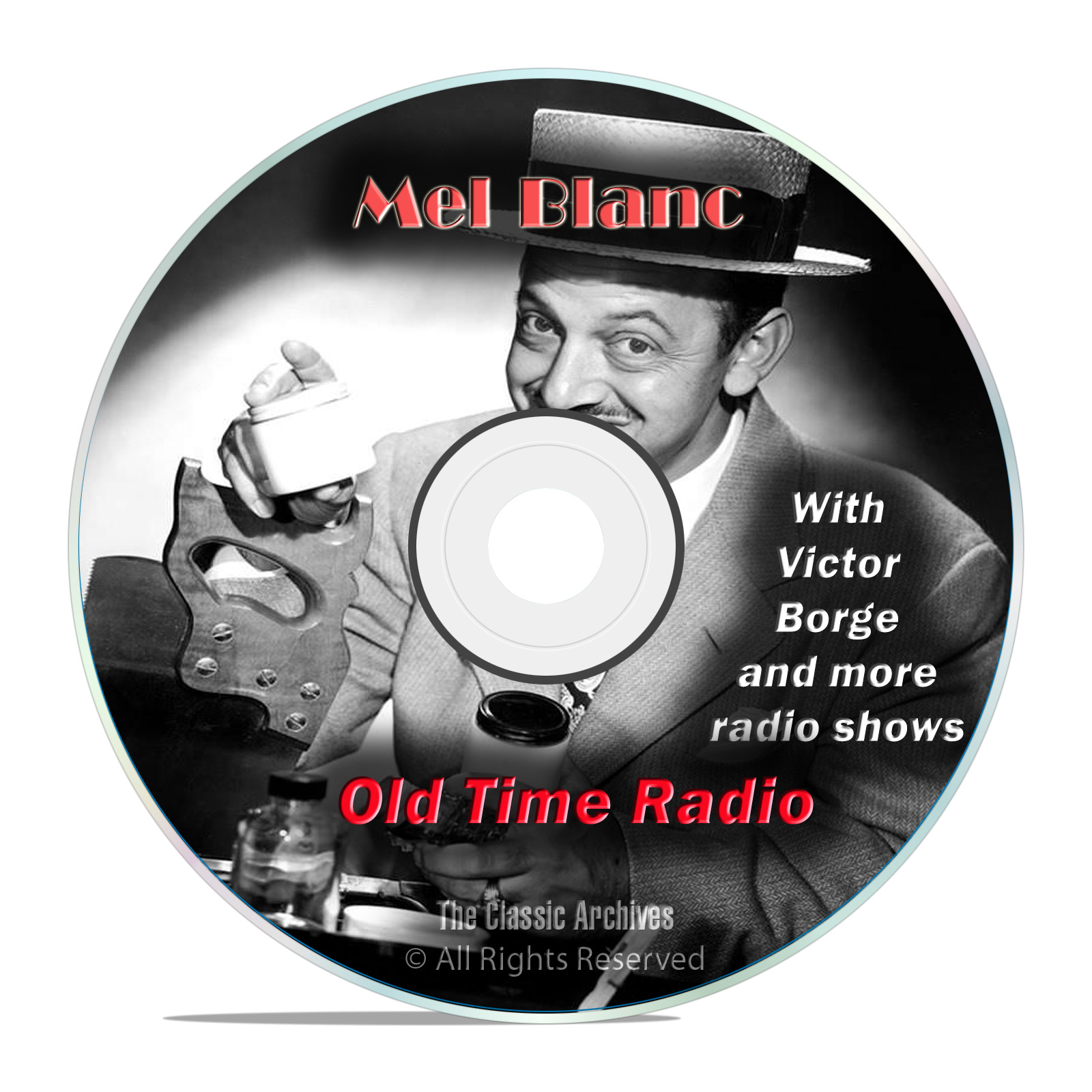 Mel Blanc, 672 Old Time Radio Sitcom Stand Up Comedy Variety Shows mp3 DVD