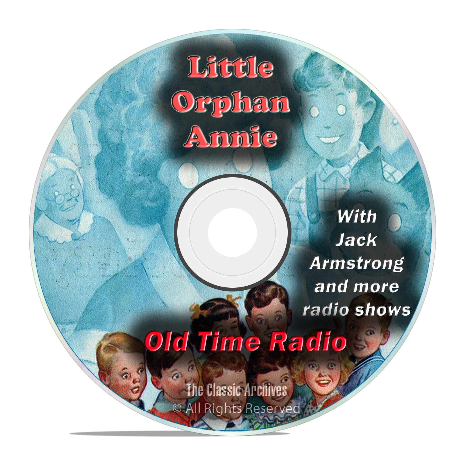 Little Orphan Annie, 966 Old Time Radio Comedy Variety Children's Shows DVD