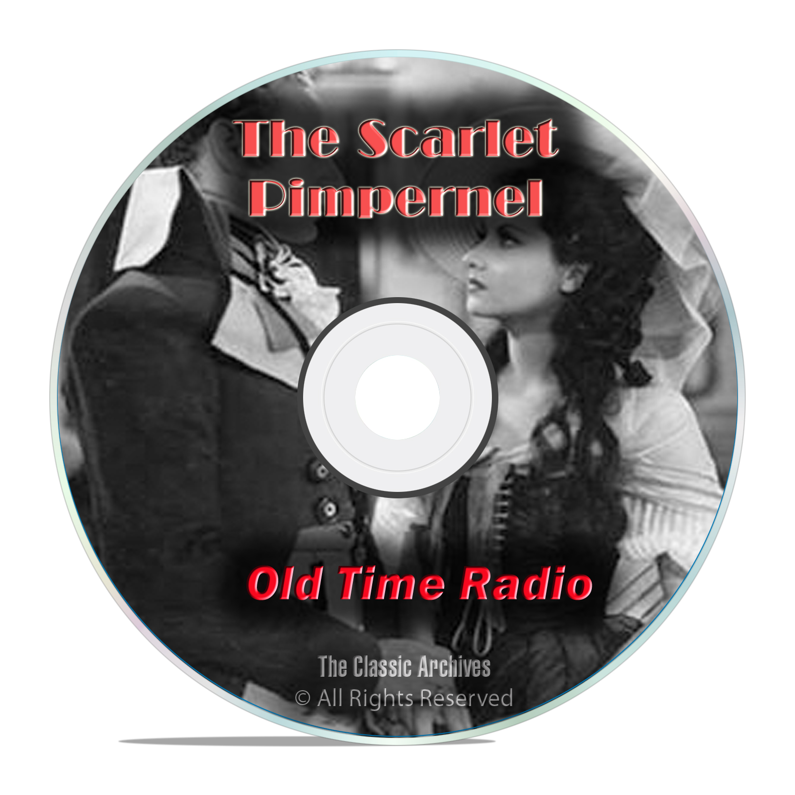 The Scarlet Pimpernel, 483 Old Time Radio Shows, British Drama, mp3 DVD