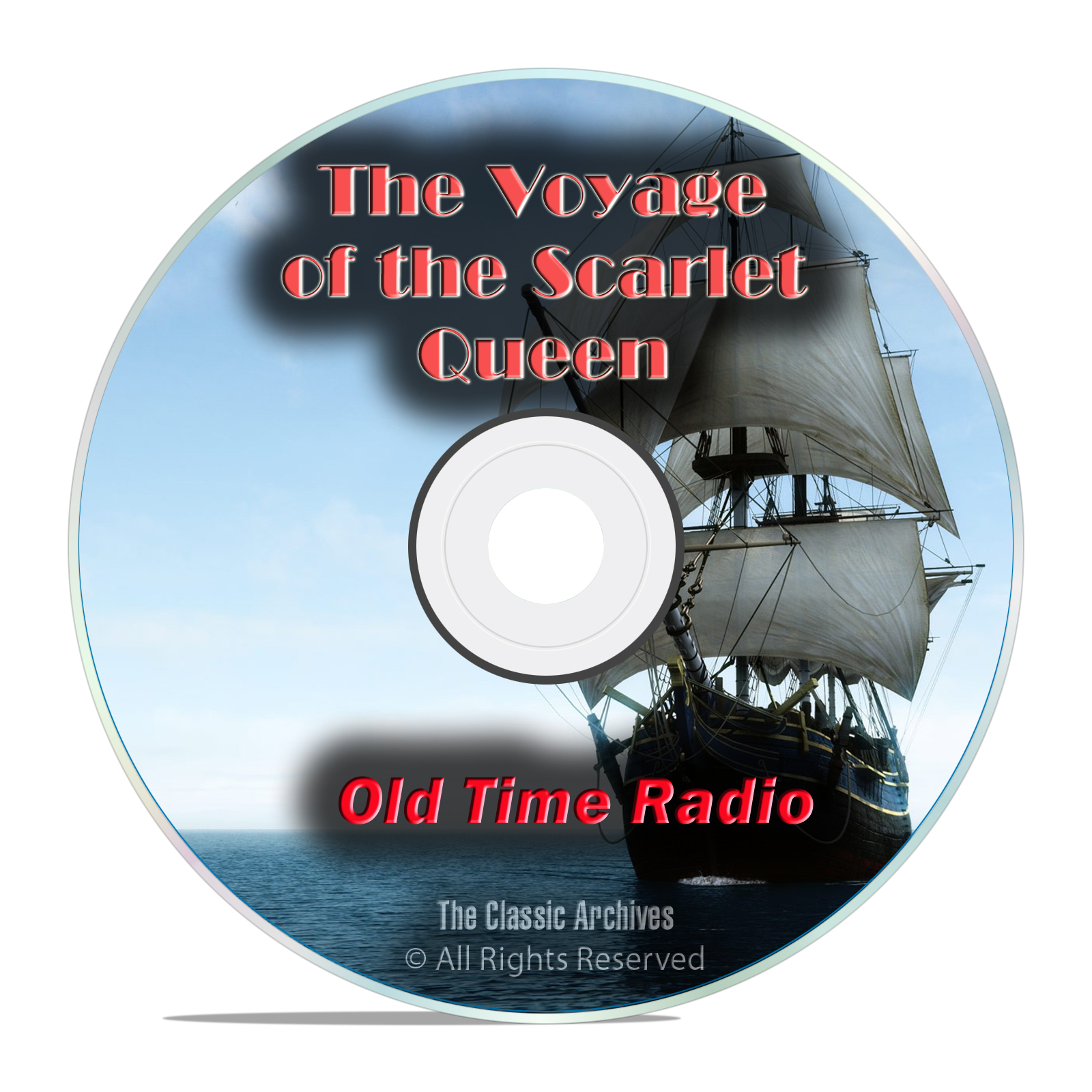 The Voyage of the Scarlet Queen, 814 Old Time Radio Shows, Adventure mp3