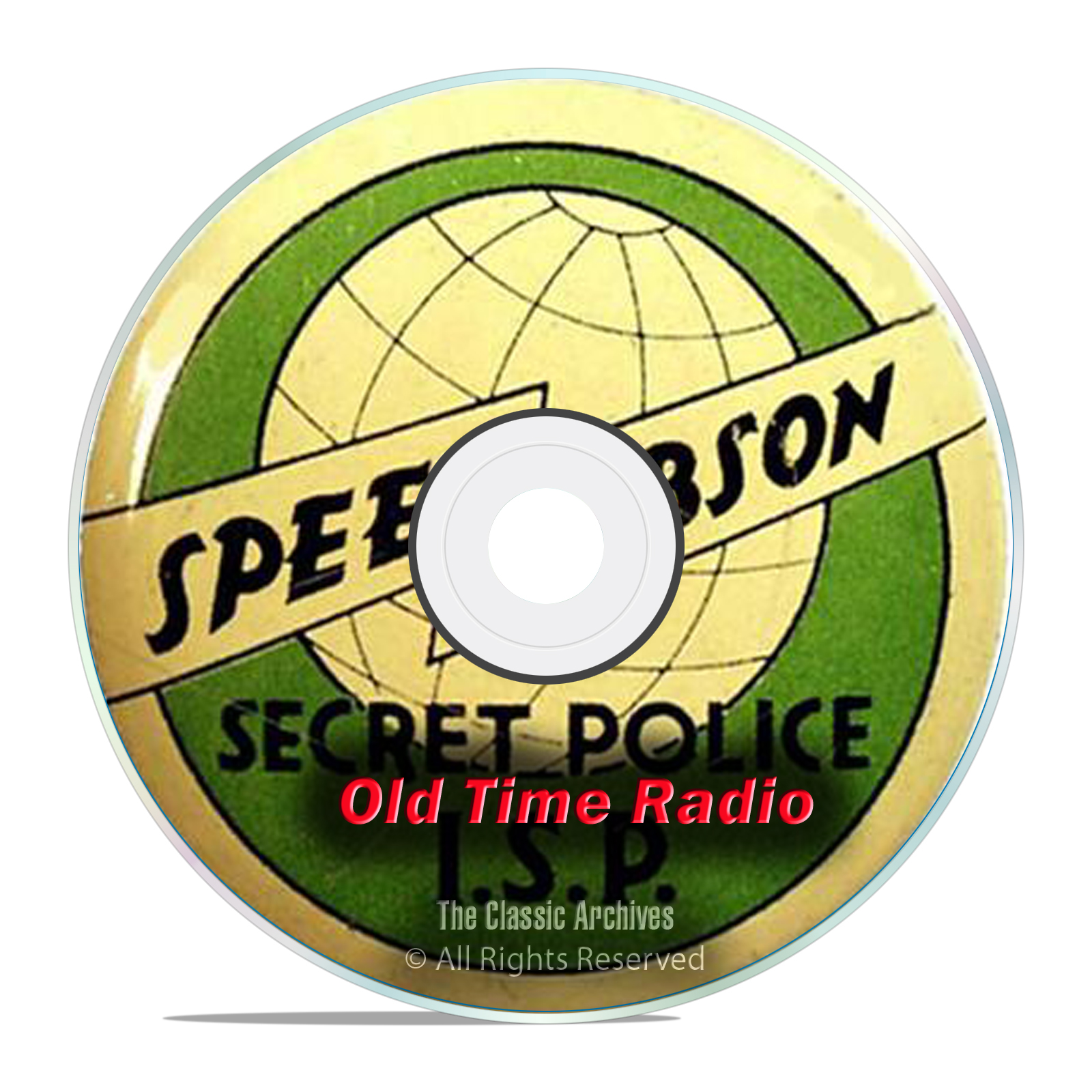 Speed Gibson, 722 Old Time Radio Shows, Detective Crime Drama mp3 DVD