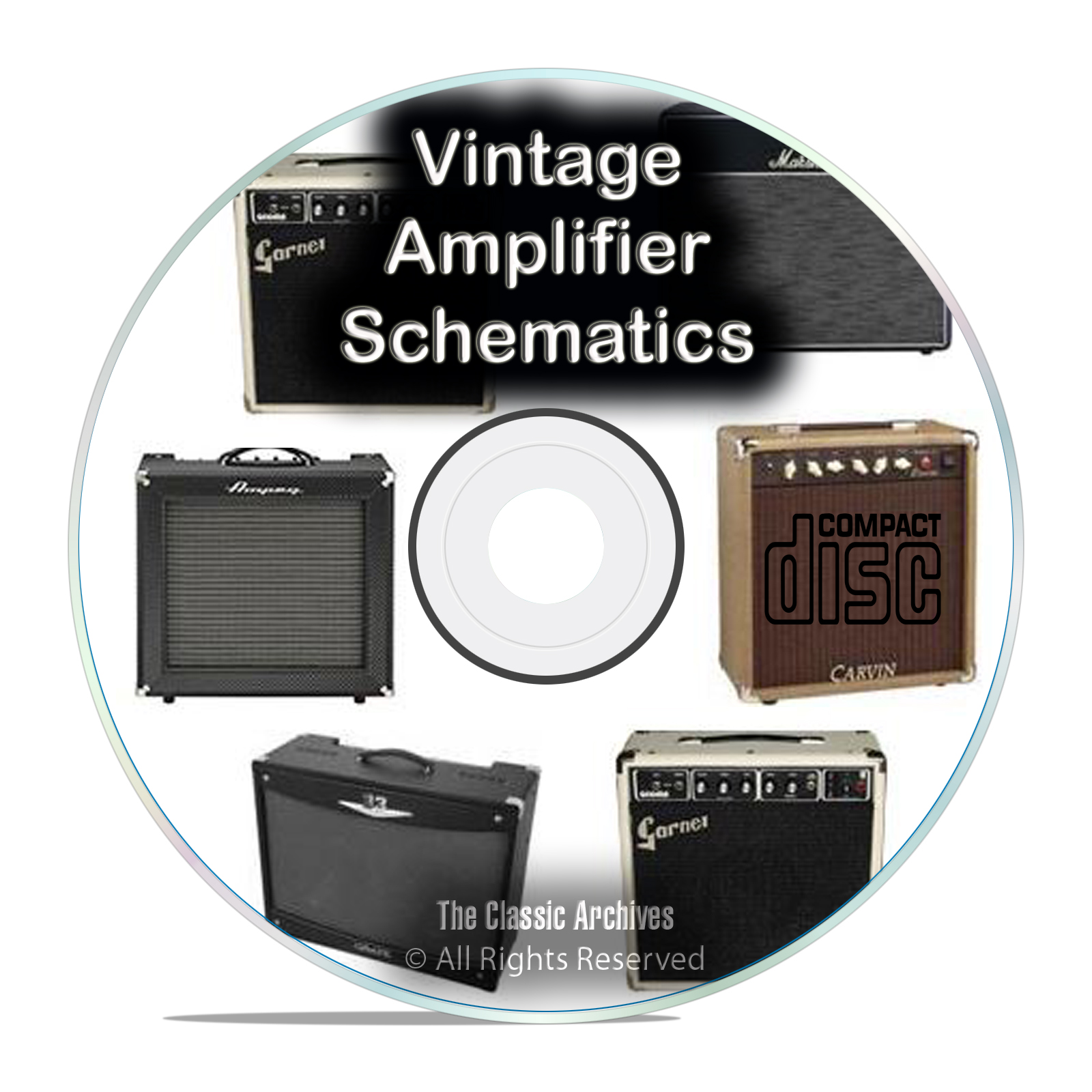 792 Vintage Amplifier Schematics, Fender, Fisher Marshall Peavey Vox CD PDF