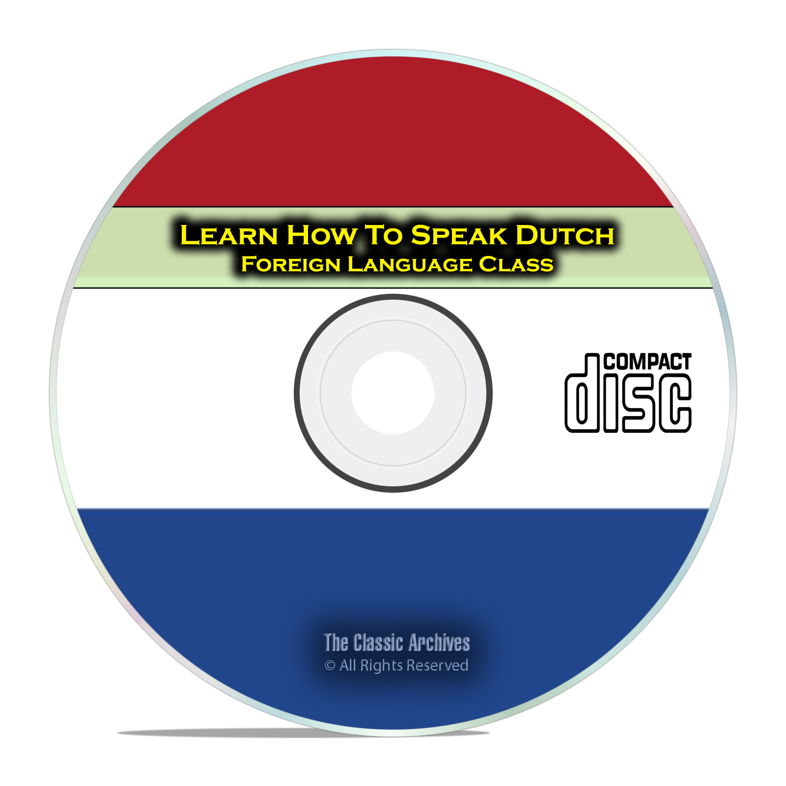 Learn How To Speak Dutch, Fast & Easy Foreign Language Training Course CD