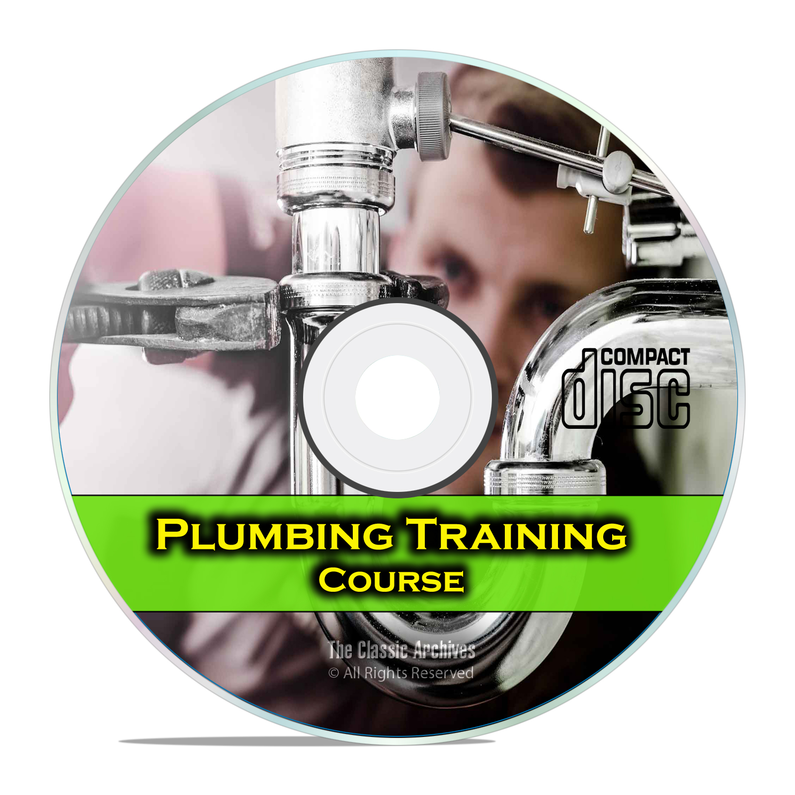 Plumber Journeyman Training Course Class, Plumbing How To Manual, DIY CD