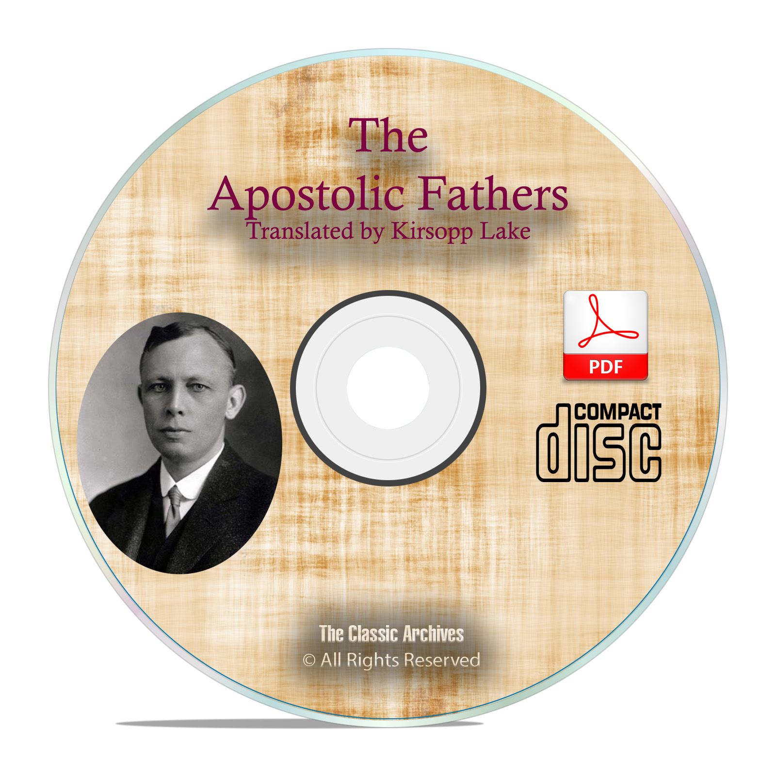 Apostolic Fathers, Kirsopp Lake, Christian Church Bible Study History PDF