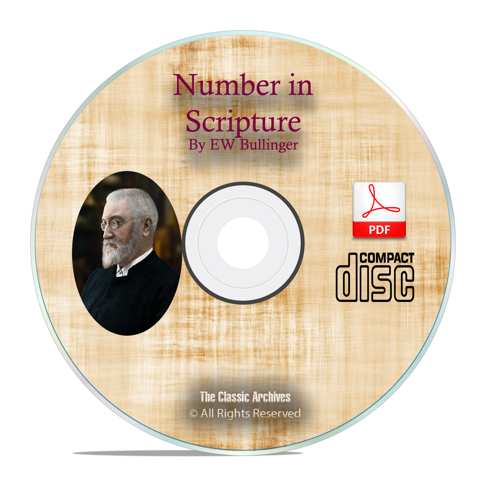 Number in Scripture, by E W Bullinger, Bible Commentary Christian PDF CD